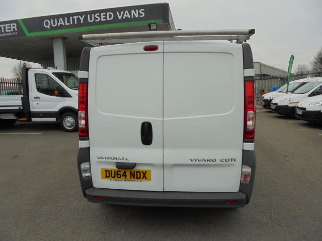 2014 Vauxhall Vivaro  LWB 2.0 115PS 2.9T EURO 5 *VALUE RANGE VEHICLE - CONDITION REFLECTED IN PRICE* (DU64NDX) Image 4