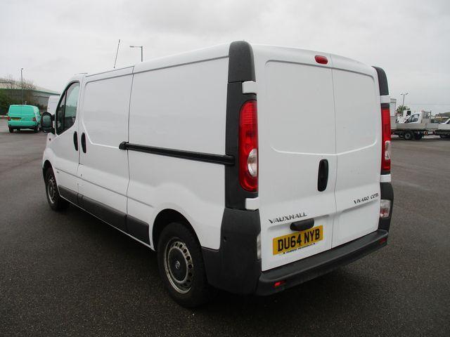 2014 Vauxhall Vivaro LWB 2.0 115PS 2.9T EURO 5 (DU64NYB) Image 4