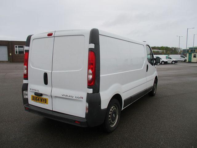 2014 Vauxhall Vivaro LWB 2.0 115PS 2.9T EURO 5 (DU64NYB) Image 5