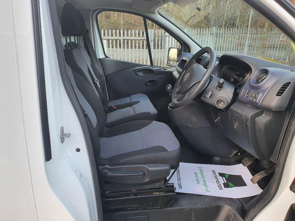 2016 Vauxhall Vivaro 2900 1.6Cdti 115Ps H1 Van (DU66GZF) Image 4