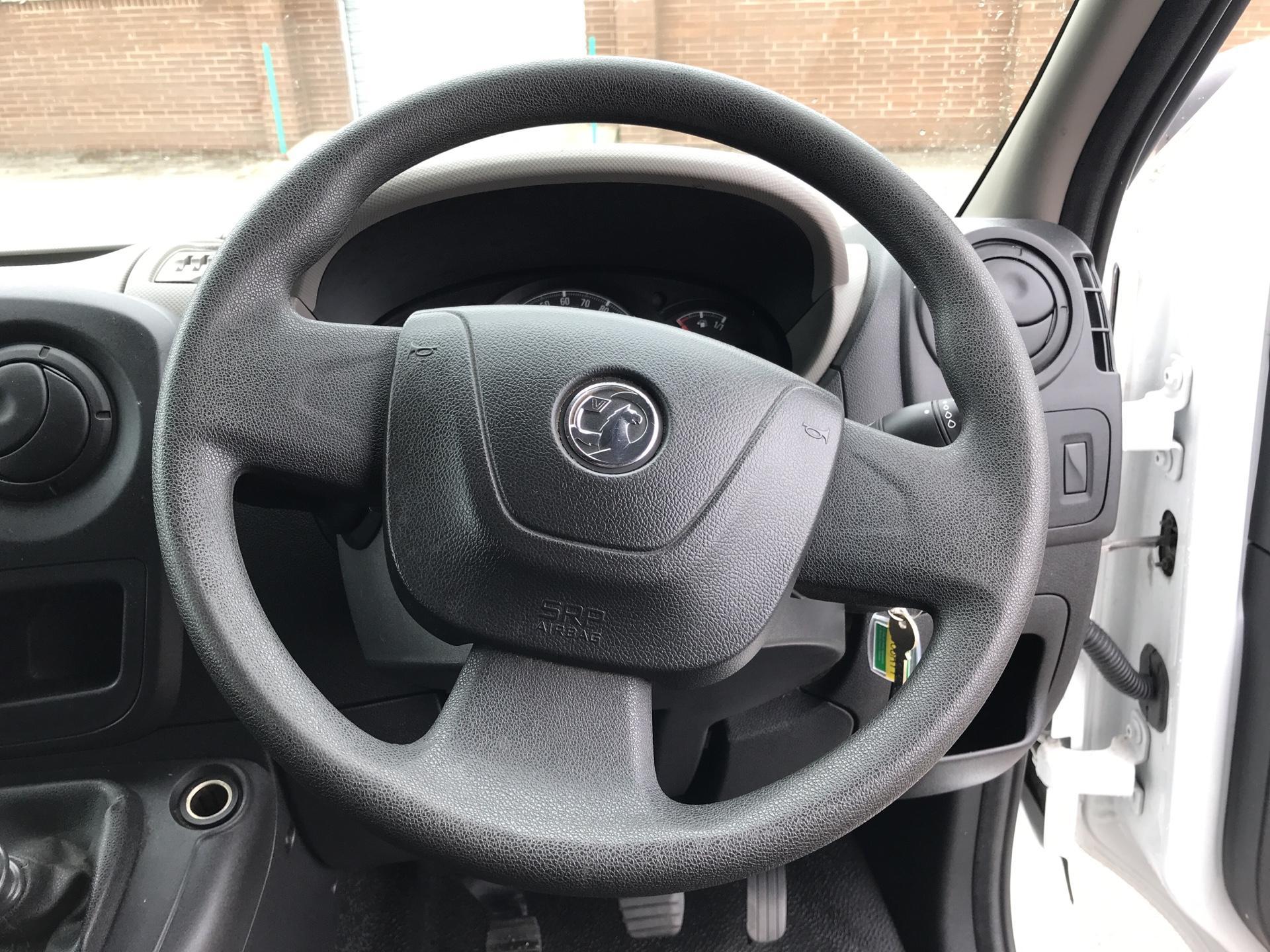 2016 Vauxhall Movano 2.3 CDTI LUTON LOW LOADER BOX VAN 125PS EURO 5 (DU66RYY) Image 12