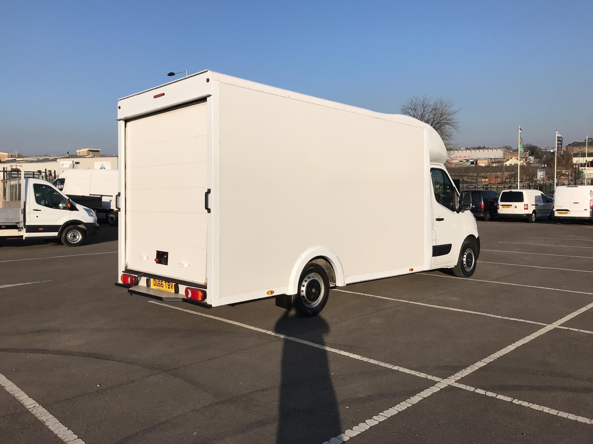2016 Vauxhall Movano 2.3 Cdti LWB LO Loader Luton Box Van Euro 6  (DU66TBV) Image 3