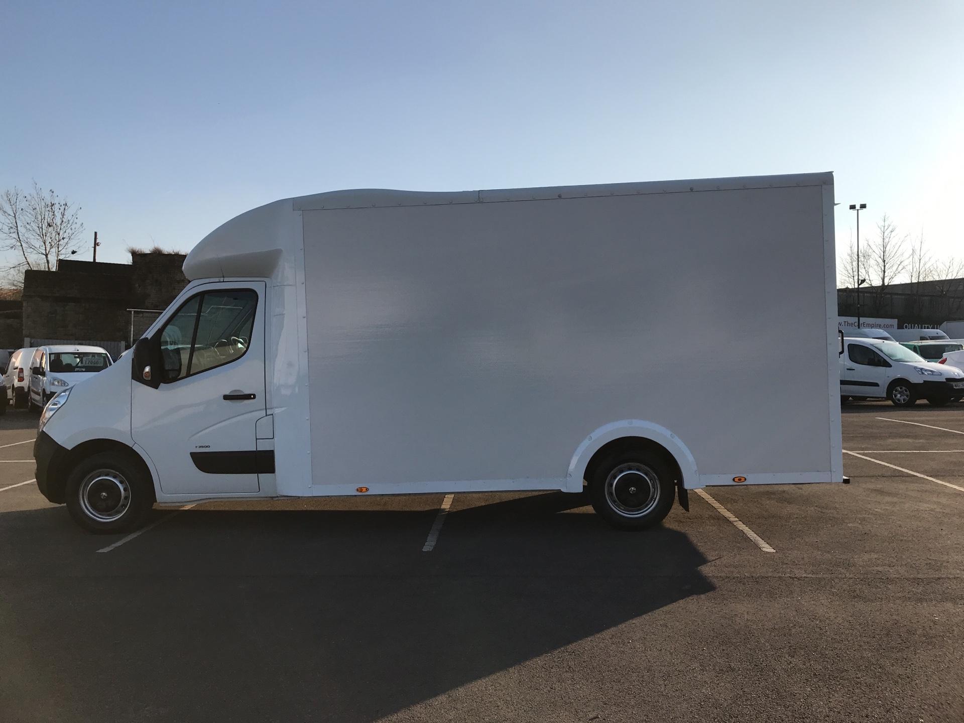 2016 Vauxhall Movano 2.3 Cdti LWB LO Loader Luton Box Van Euro 6  (DU66TBV) Image 6