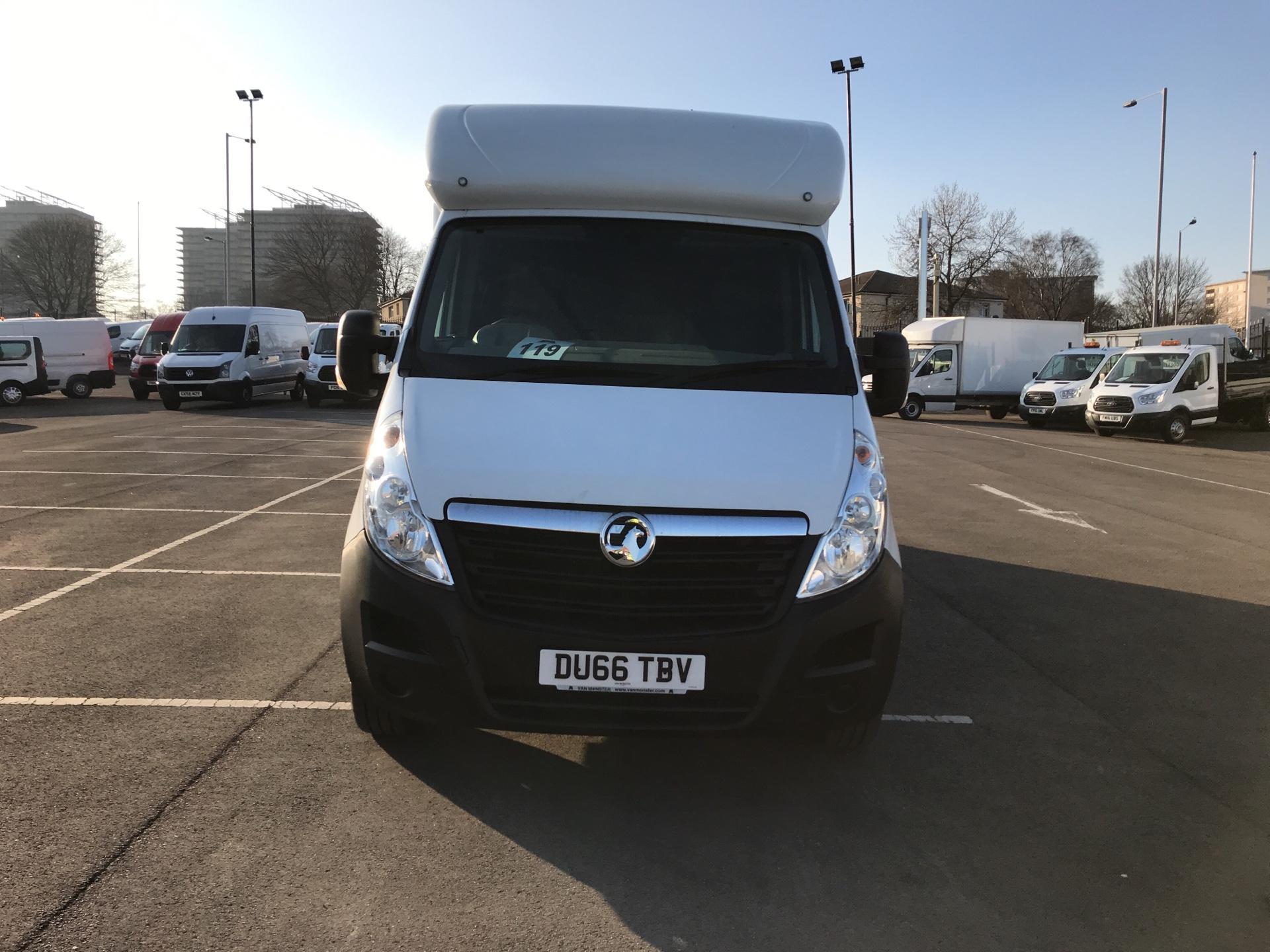 2016 Vauxhall Movano 2.3 Cdti LWB LO Loader Luton Box Van Euro 6  (DU66TBV) Image 8