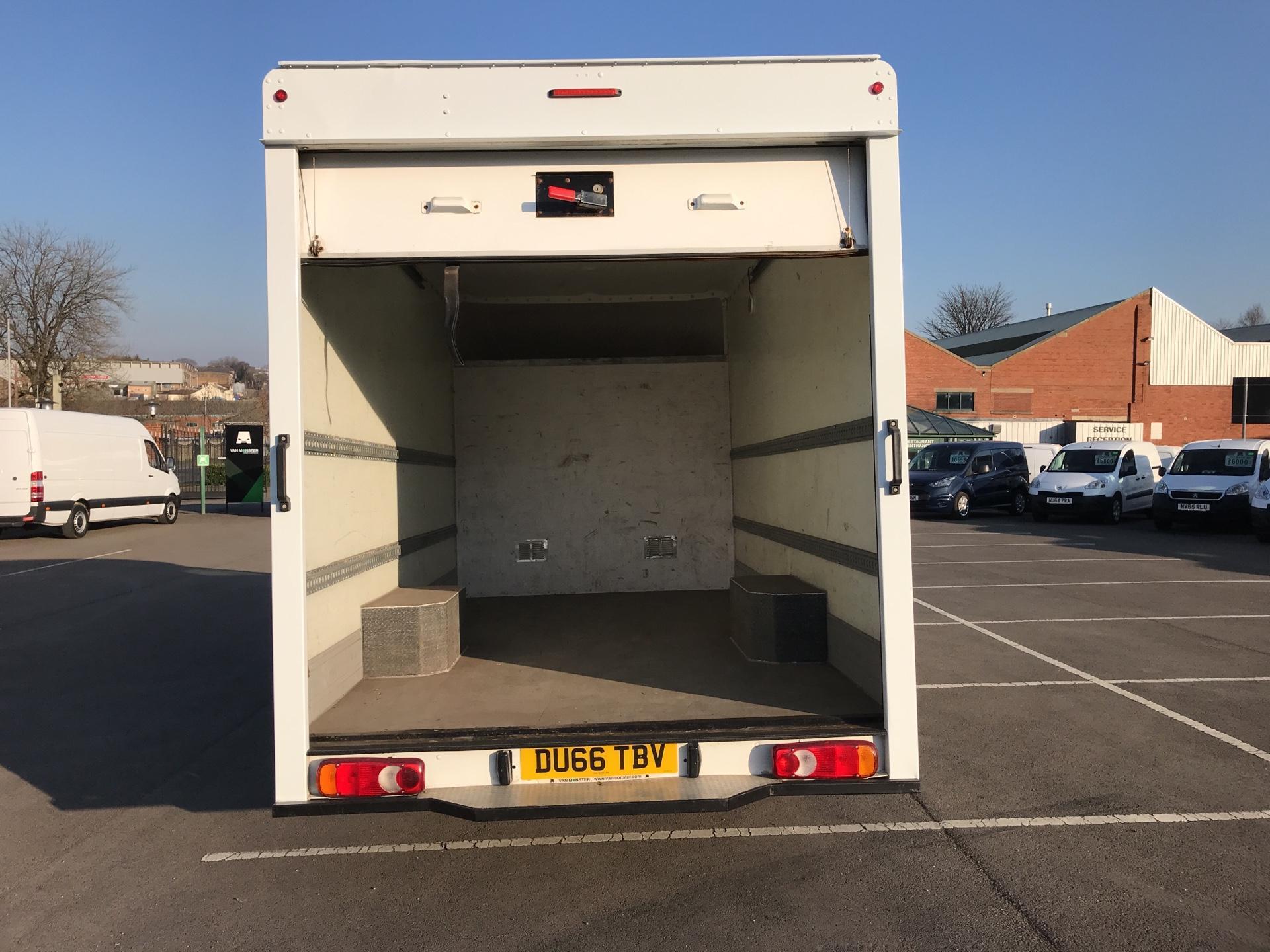 2016 Vauxhall Movano 2.3 Cdti LWB LO Loader Luton Box Van Euro 6  (DU66TBV) Image 17