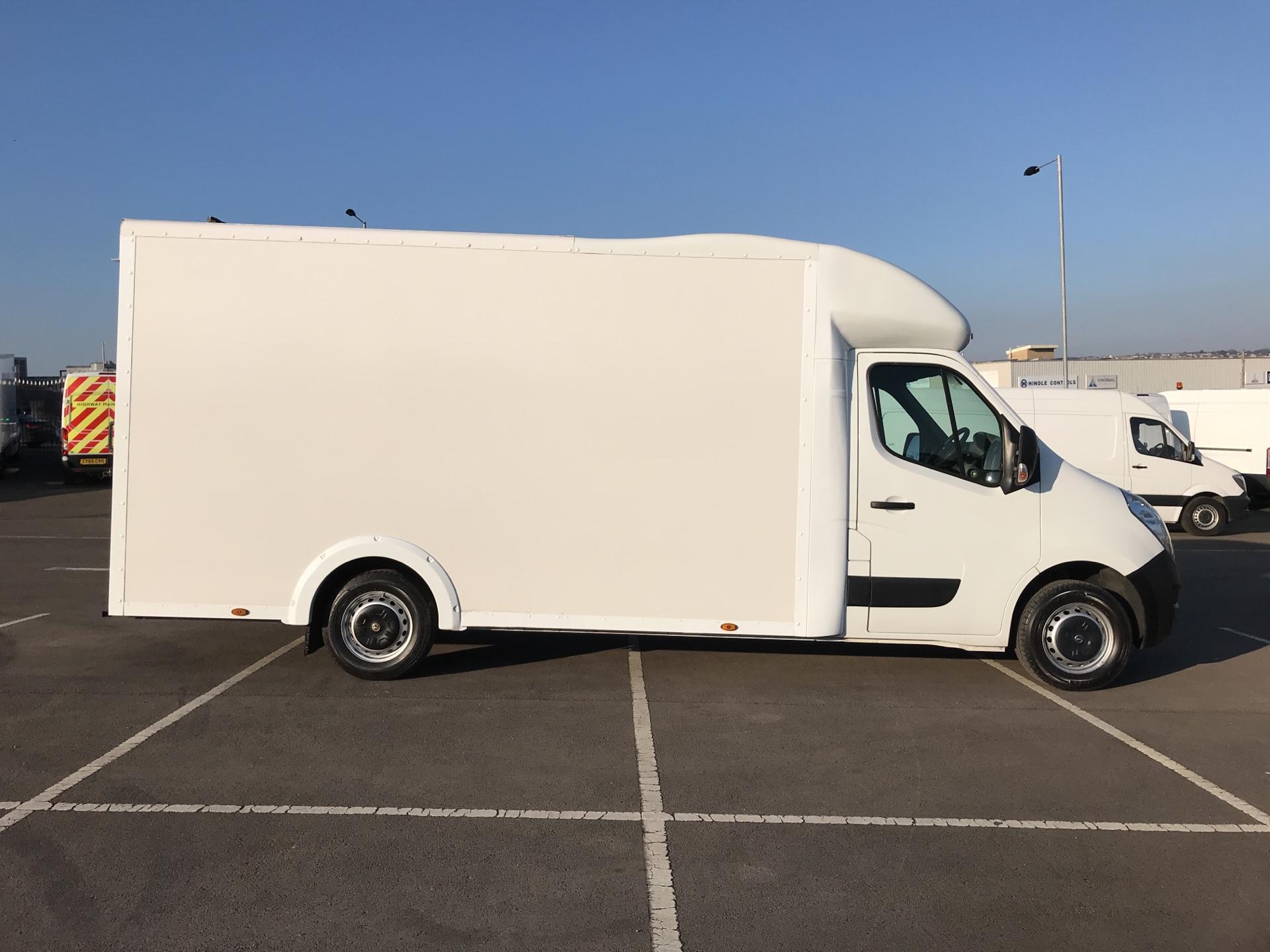 2016 Vauxhall Movano 2.3 Cdti LWB LO Loader Luton Box Van Euro 6  (DU66TBV) Image 2