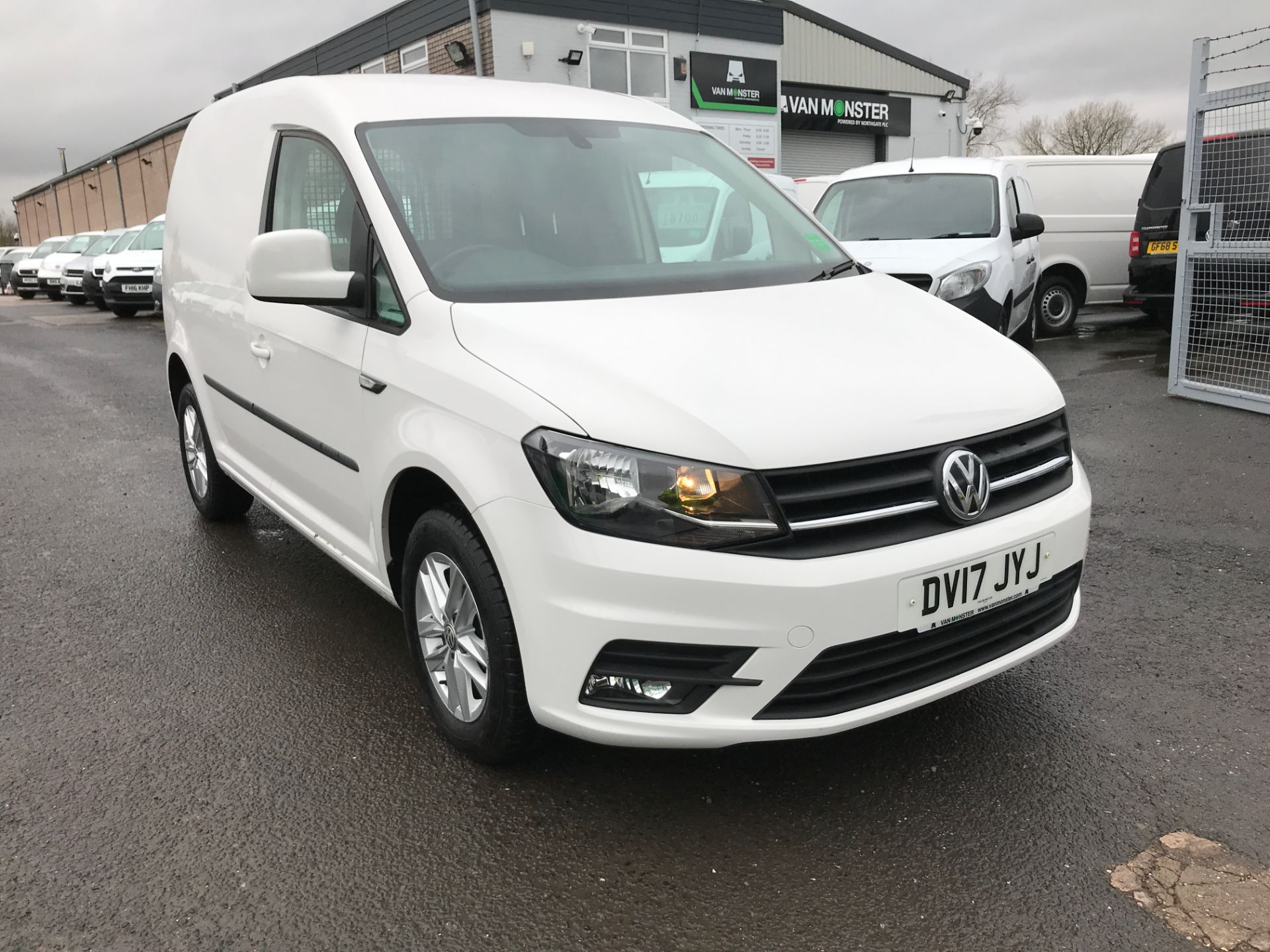 2017 Volkswagen Caddy 2.0TDI BLUEMOTION TECH 102PS HIGHLINE EURO 6 (DV17JYJ)