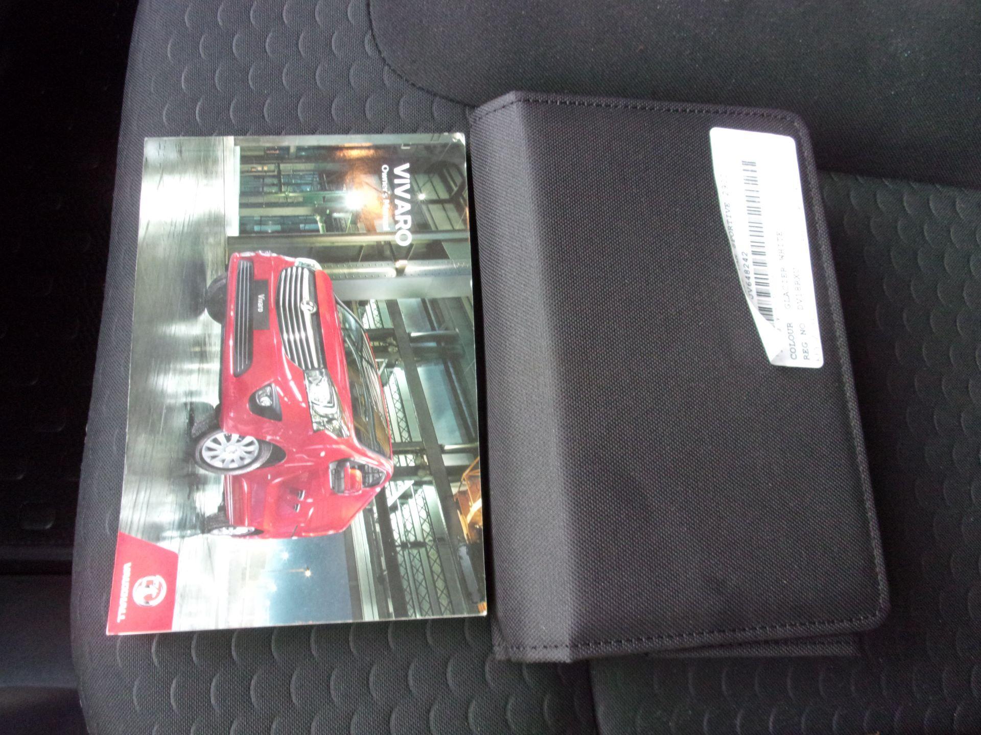 2018 Vauxhall Vivaro L2 H1 2900 1.6 CDTI 120PS SPORTIVE VAN EURO 6 (DV18RXU) Image 25
