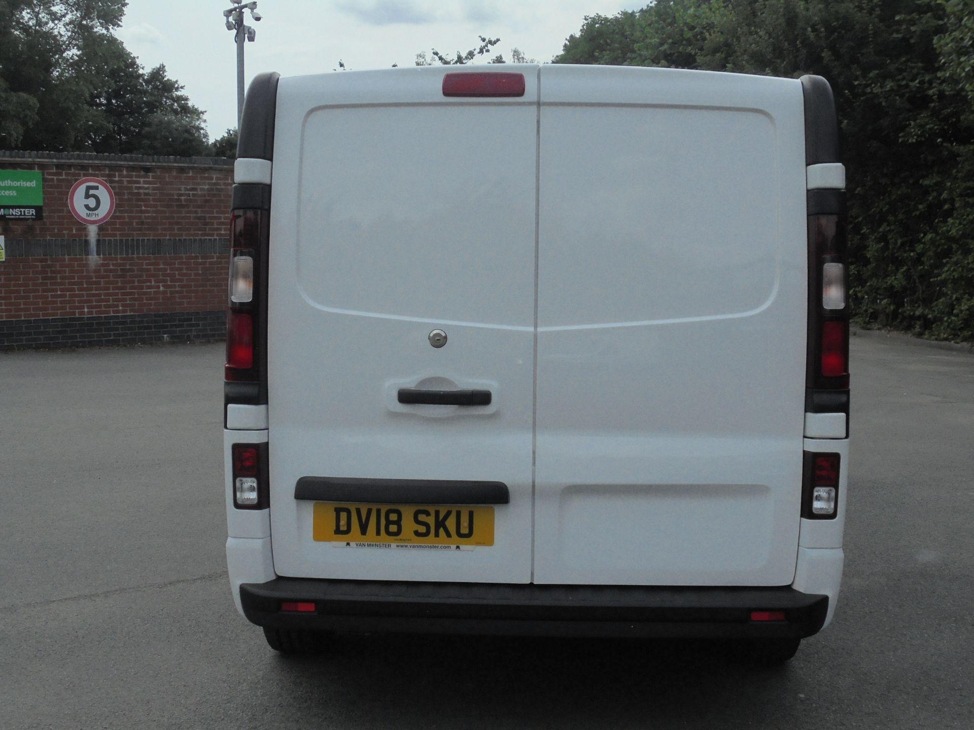 2018 Vauxhall Vivaro 2900 1.6Cdti 120Ps Sportive H1 Van (DV18SKU) Image 8