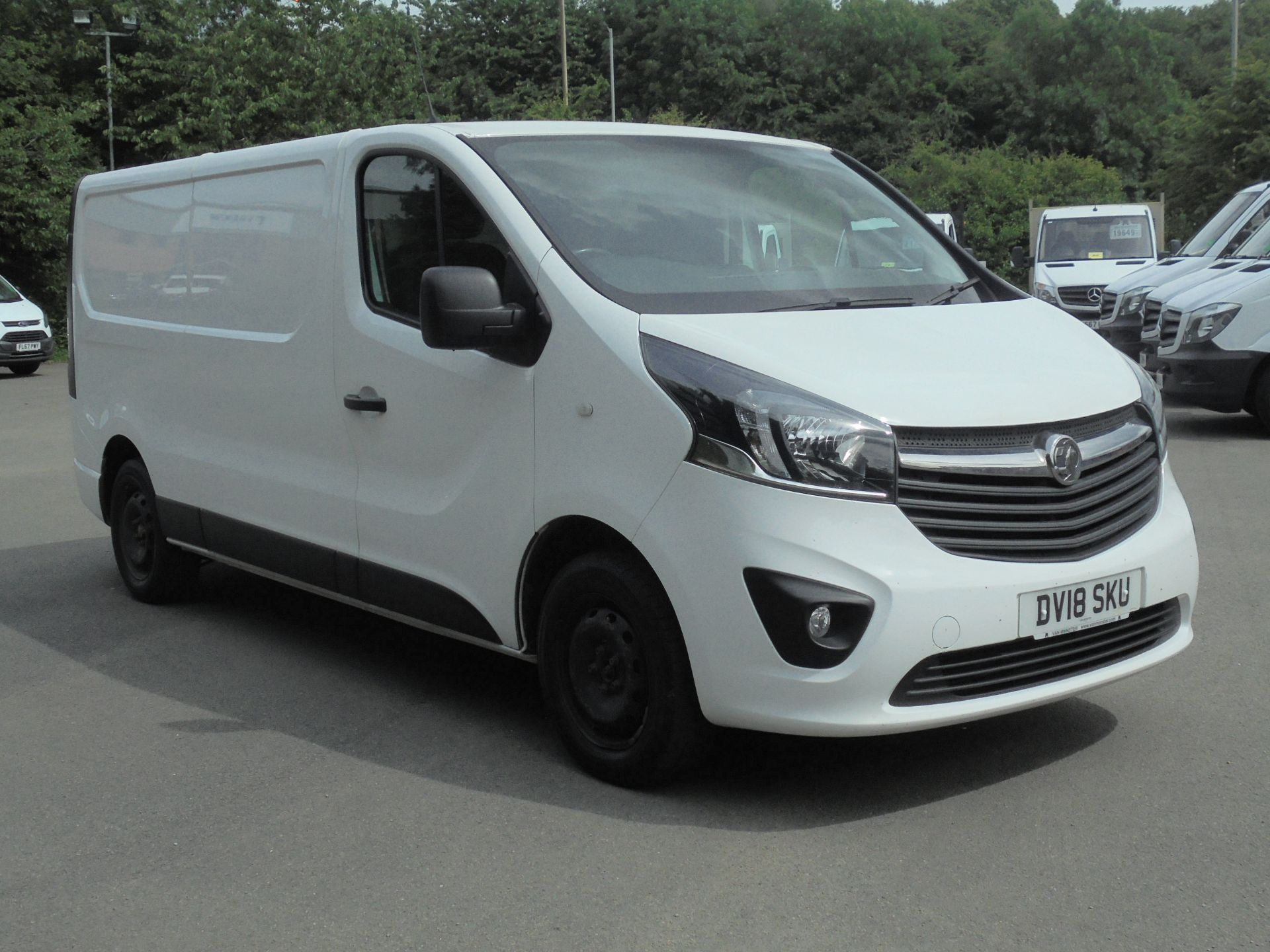 2018 Vauxhall Vivaro 2900 1.6Cdti 120Ps Sportive H1 Van (DV18SKU)