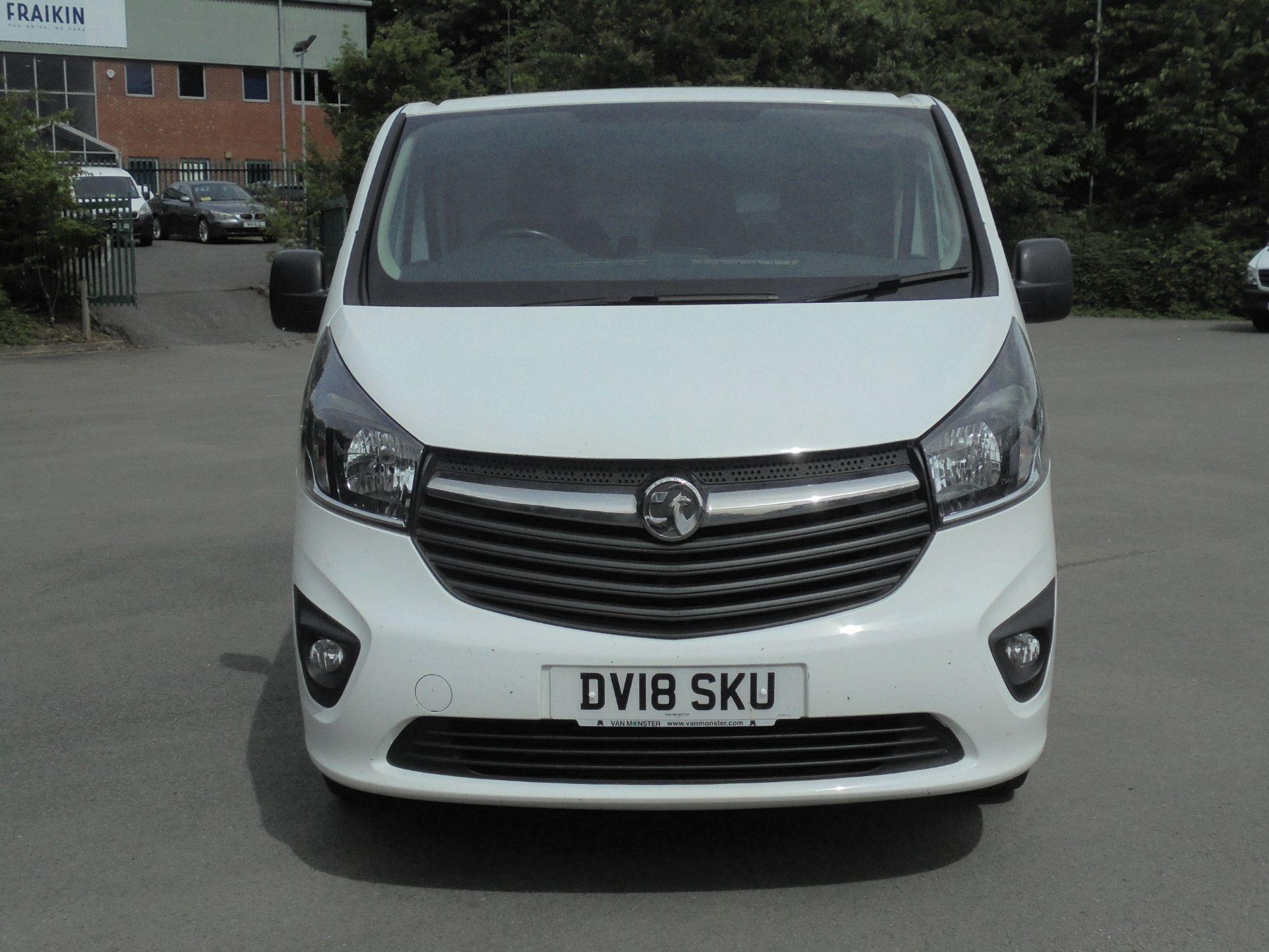 2018 Vauxhall Vivaro 2900 1.6Cdti 120Ps Sportive H1 Van (DV18SKU) Image 2
