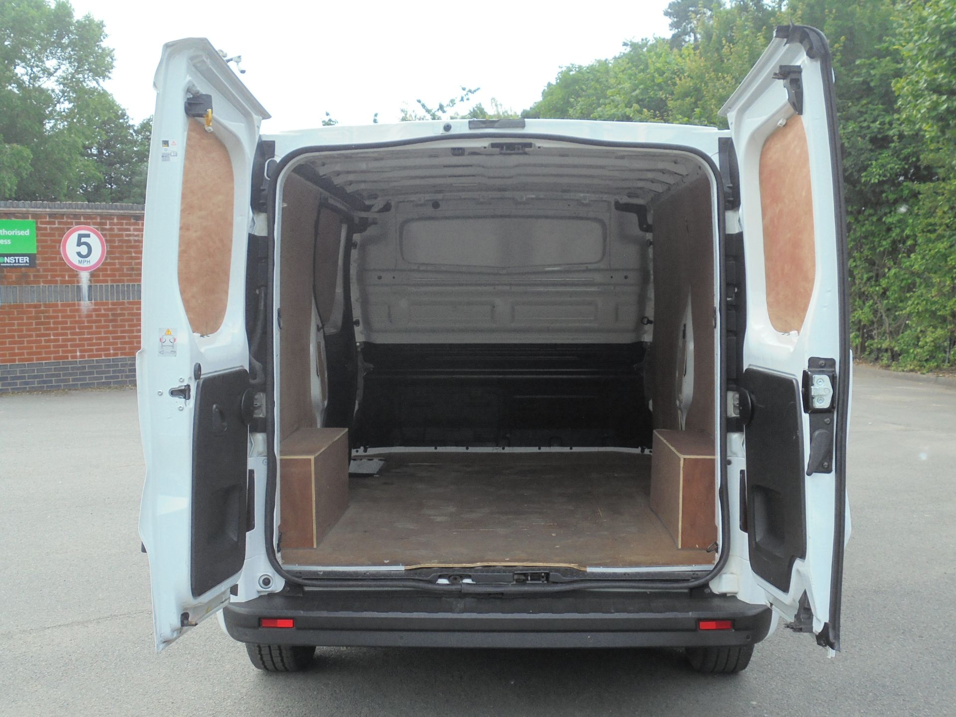 2018 Vauxhall Vivaro 2900 1.6Cdti 120Ps Sportive H1 Van (DV18SKU) Image 9