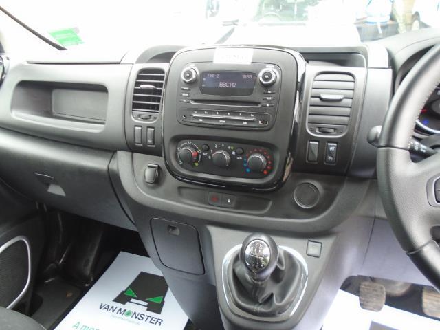 2018 Vauxhall Vivaro 2900 1.6Cdti 120Ps Sportive H1 Van *LIMITED 70MPH* (DV18TDZ) Image 16