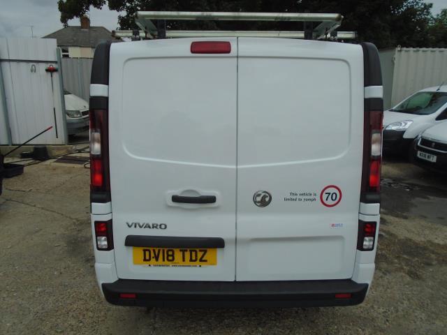 2018 Vauxhall Vivaro 2900 1.6Cdti 120Ps Sportive H1 Van *LIMITED 70MPH* (DV18TDZ) Image 6