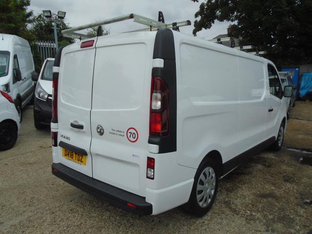 2018 Vauxhall Vivaro 2900 1.6Cdti 120Ps Sportive H1 Van *LIMITED 70MPH* (DV18TDZ) Image 5