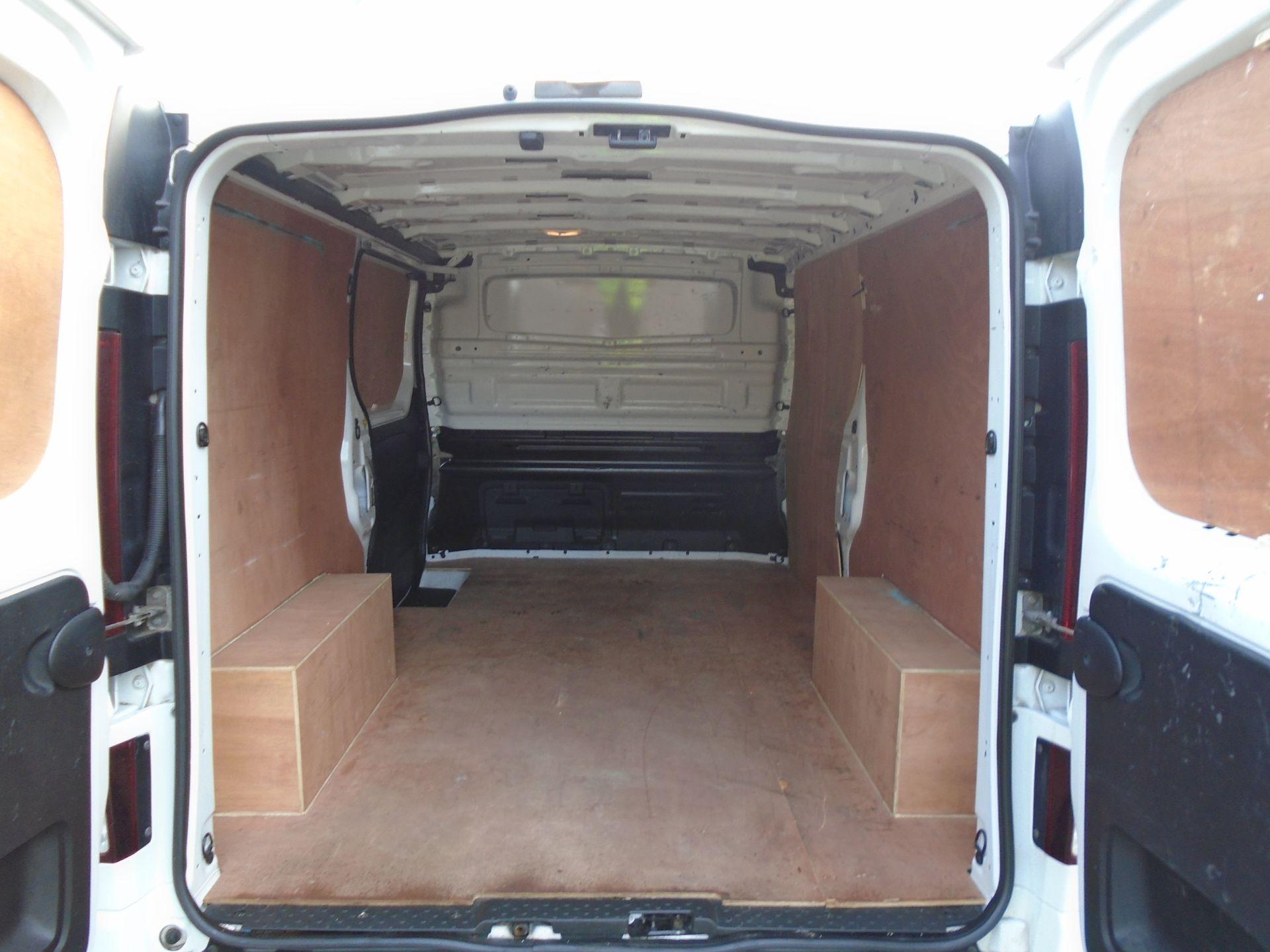 2018 Vauxhall Vivaro 2900 1.6Cdti 120Ps Sportive H1 Van **LIMITED 70MPH** (DV18TFA) Image 11