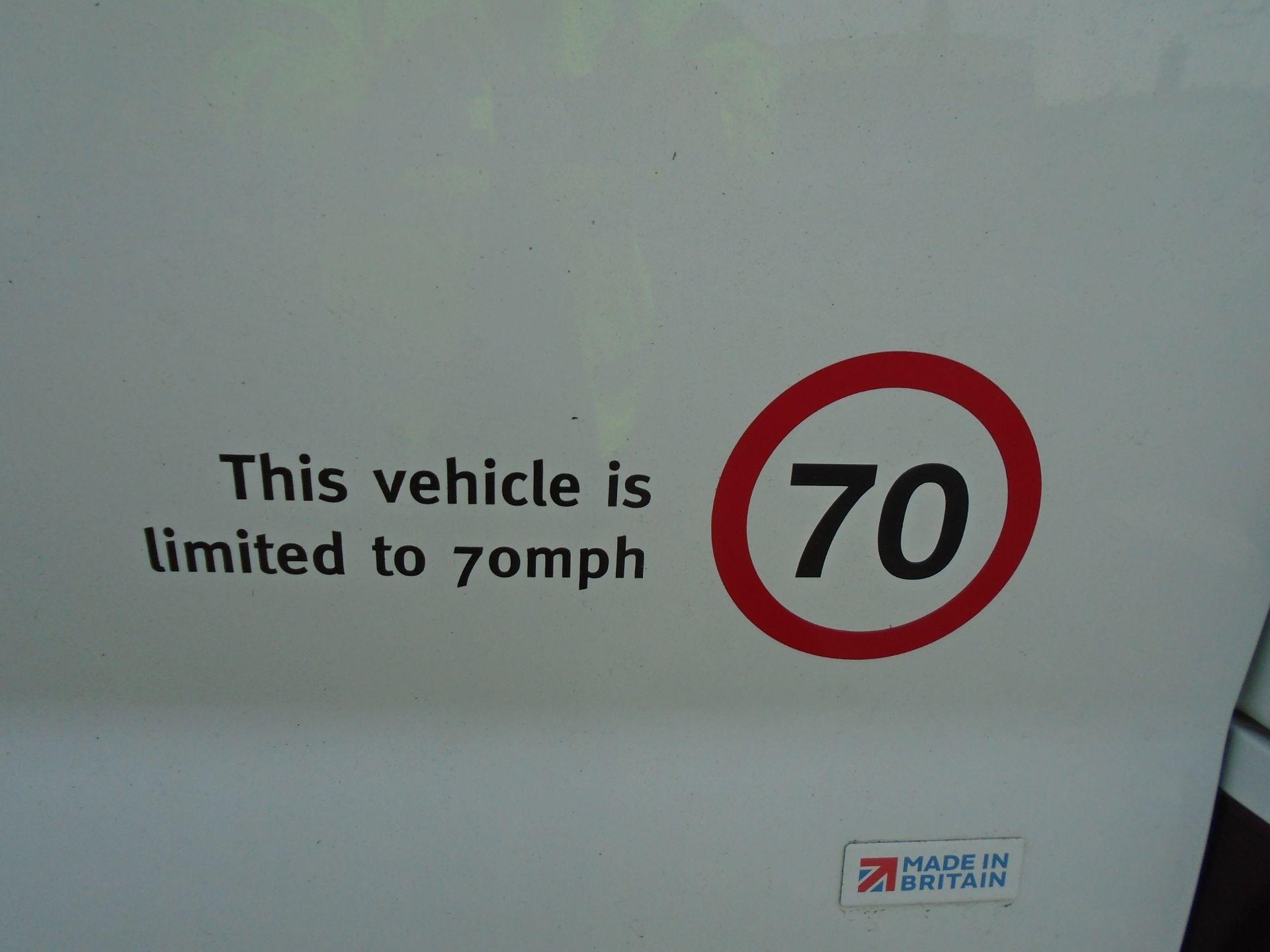 2018 Vauxhall Vivaro 2900 1.6Cdti 120Ps Sportive H1 Van **LIMITED 70MPH** (DV18TFA) Image 7