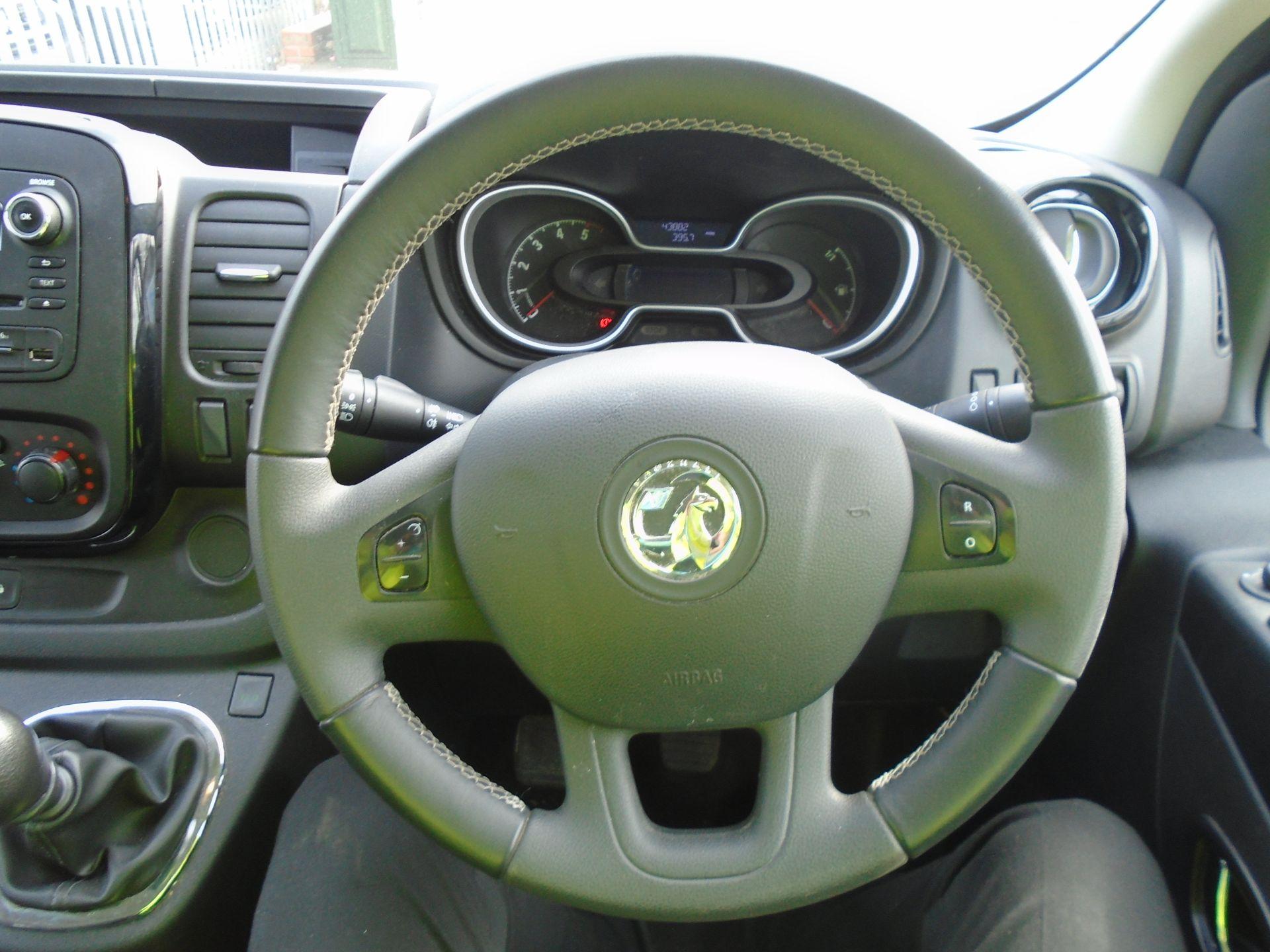 2018 Vauxhall Vivaro 2900 1.6Cdti 120Ps Sportive H1 Van **LIMITED 70MPH** (DV18TFA) Image 22