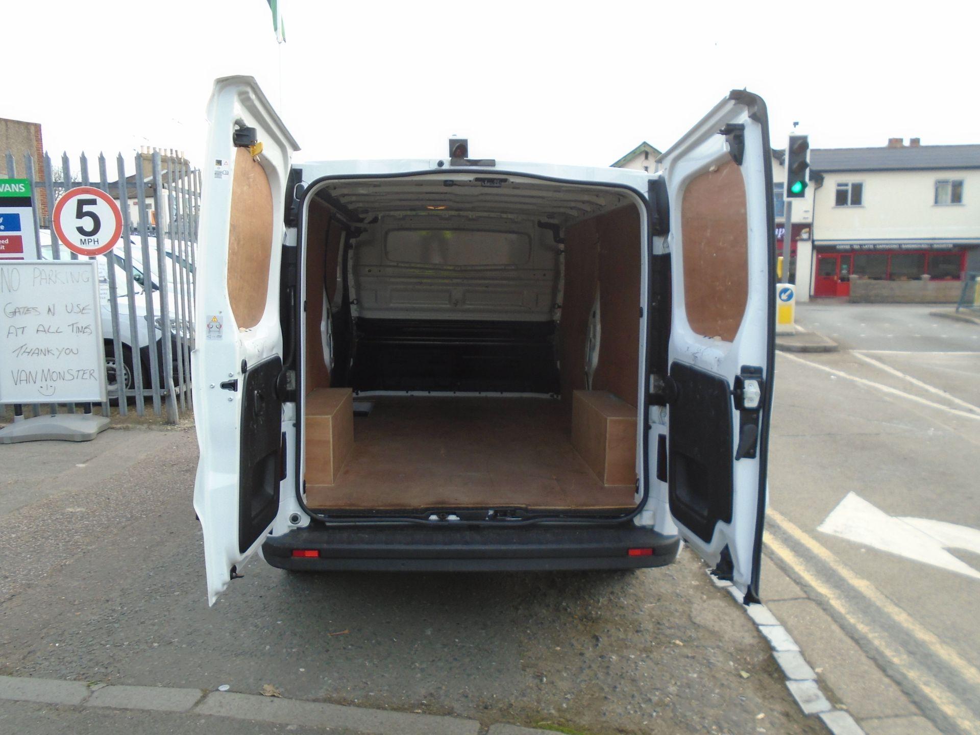 2018 Vauxhall Vivaro 2900 1.6Cdti 120Ps Sportive H1 Van **LIMITED 70MPH** (DV18TFA) Image 10