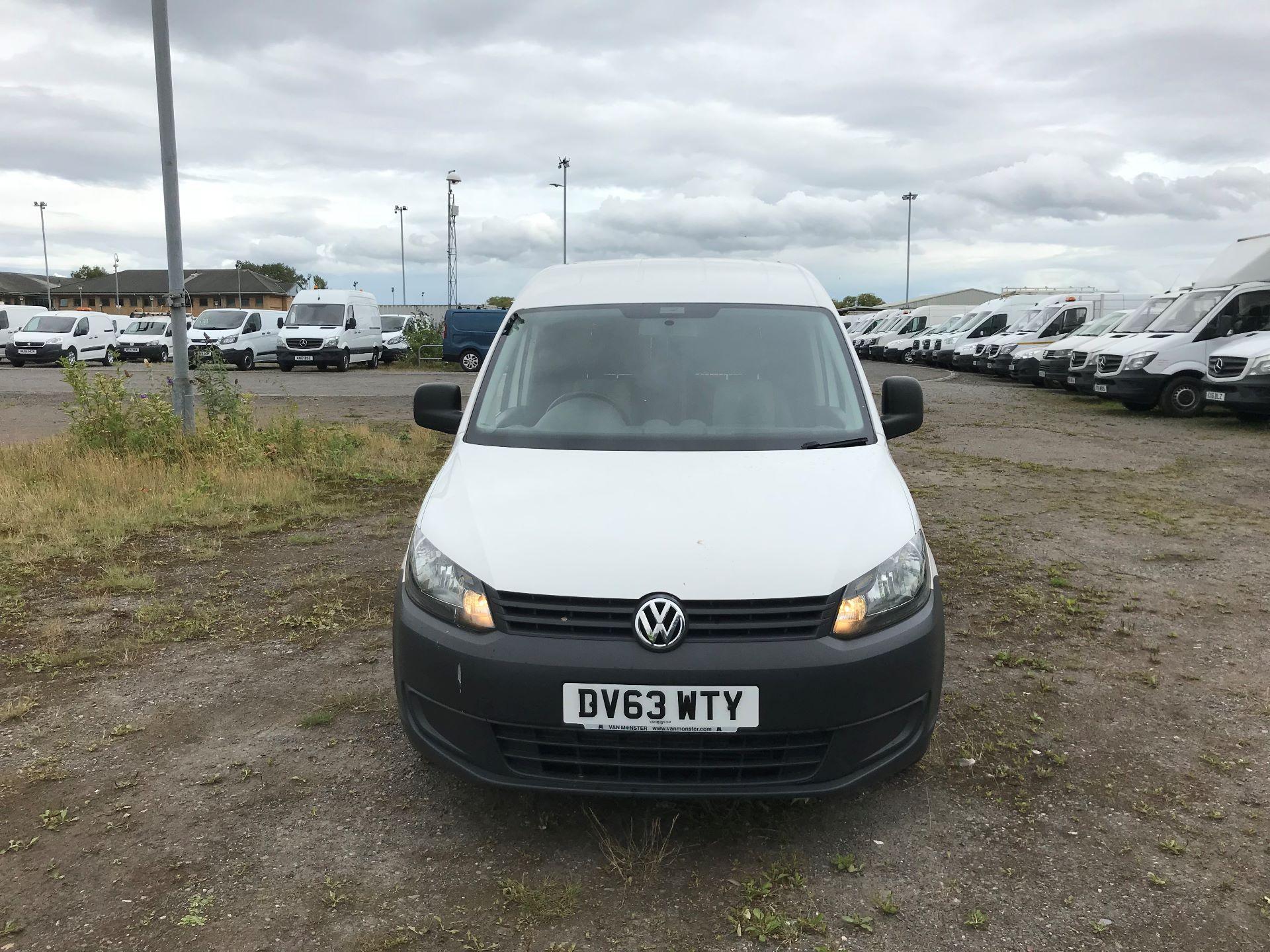 2013 Volkswagen Caddy 1.6 Tdi 102Ps Van (DV63WTY) Image 2