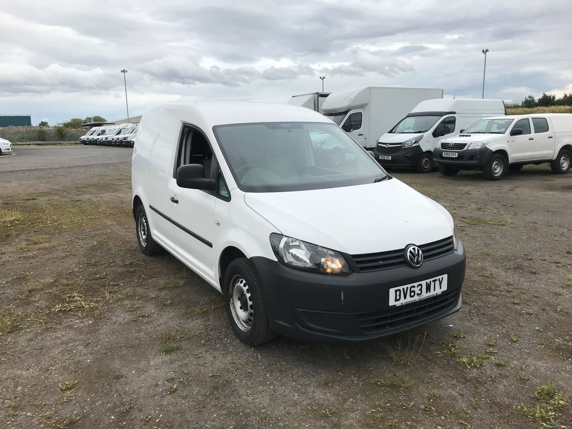 2013 Volkswagen Caddy 1.6 Tdi 102Ps Van (DV63WTY)