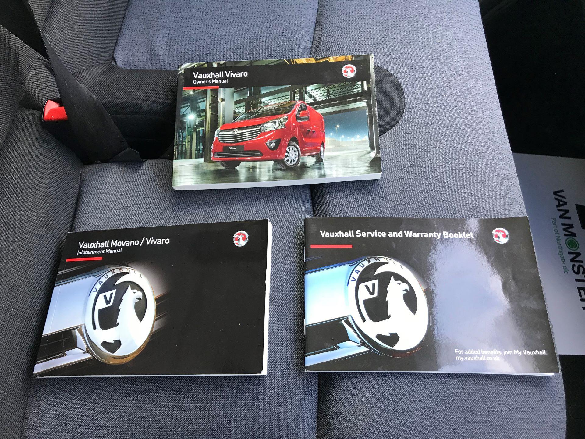 2017 Vauxhall Vivaro L2 H1 2900 1.6CDTI 120PS EURO 6 (DV67LTX) Image 30