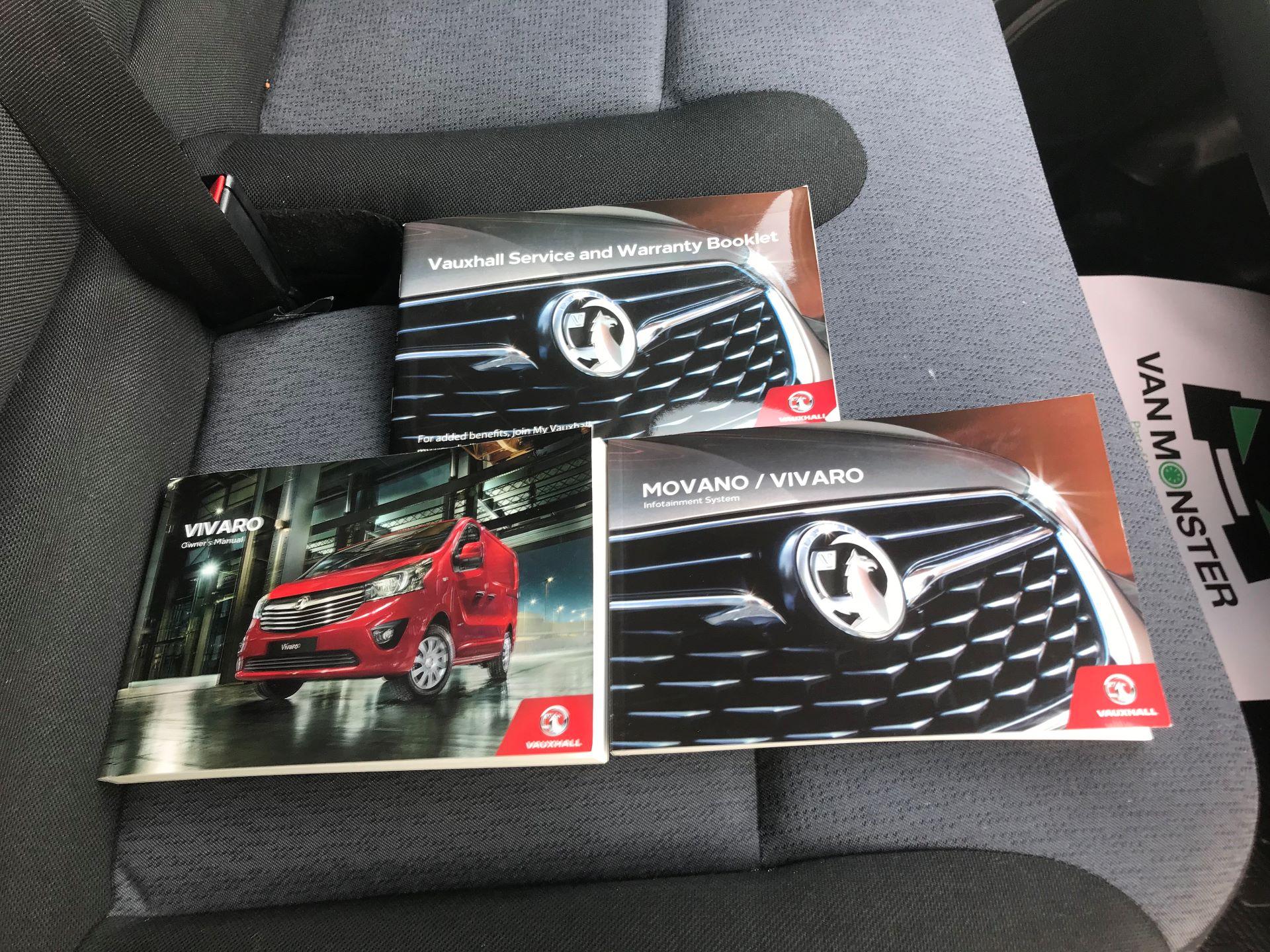 2017 Vauxhall Vivaro L2 H1 2900 1.6CDTI 120PS EURO 6 (DV67LVD) Image 24