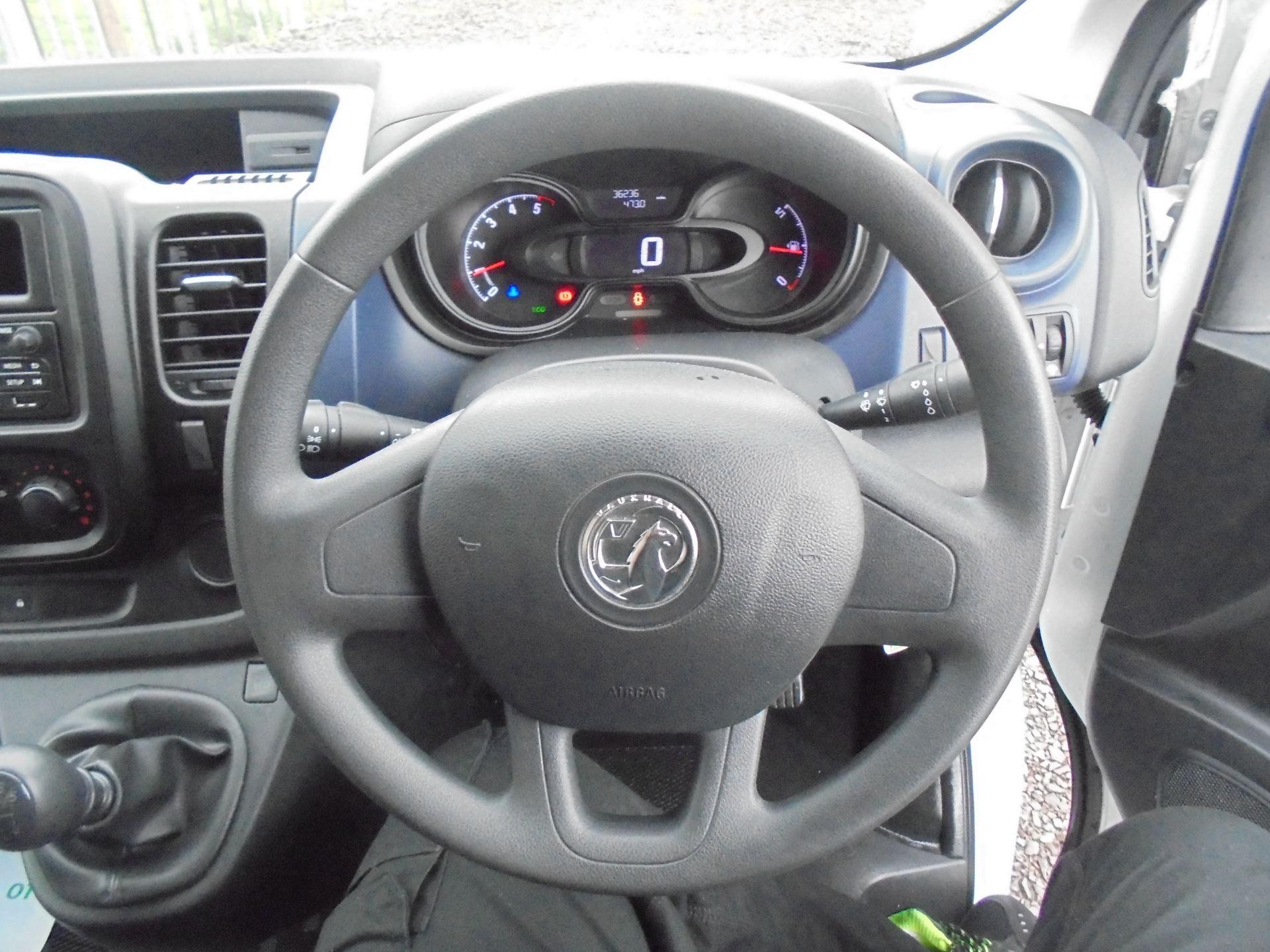 2017 Vauxhall Vivaro L2 2900 1.6CDTI 120PS  H1 EURO 6  (DV67LWY) Image 13