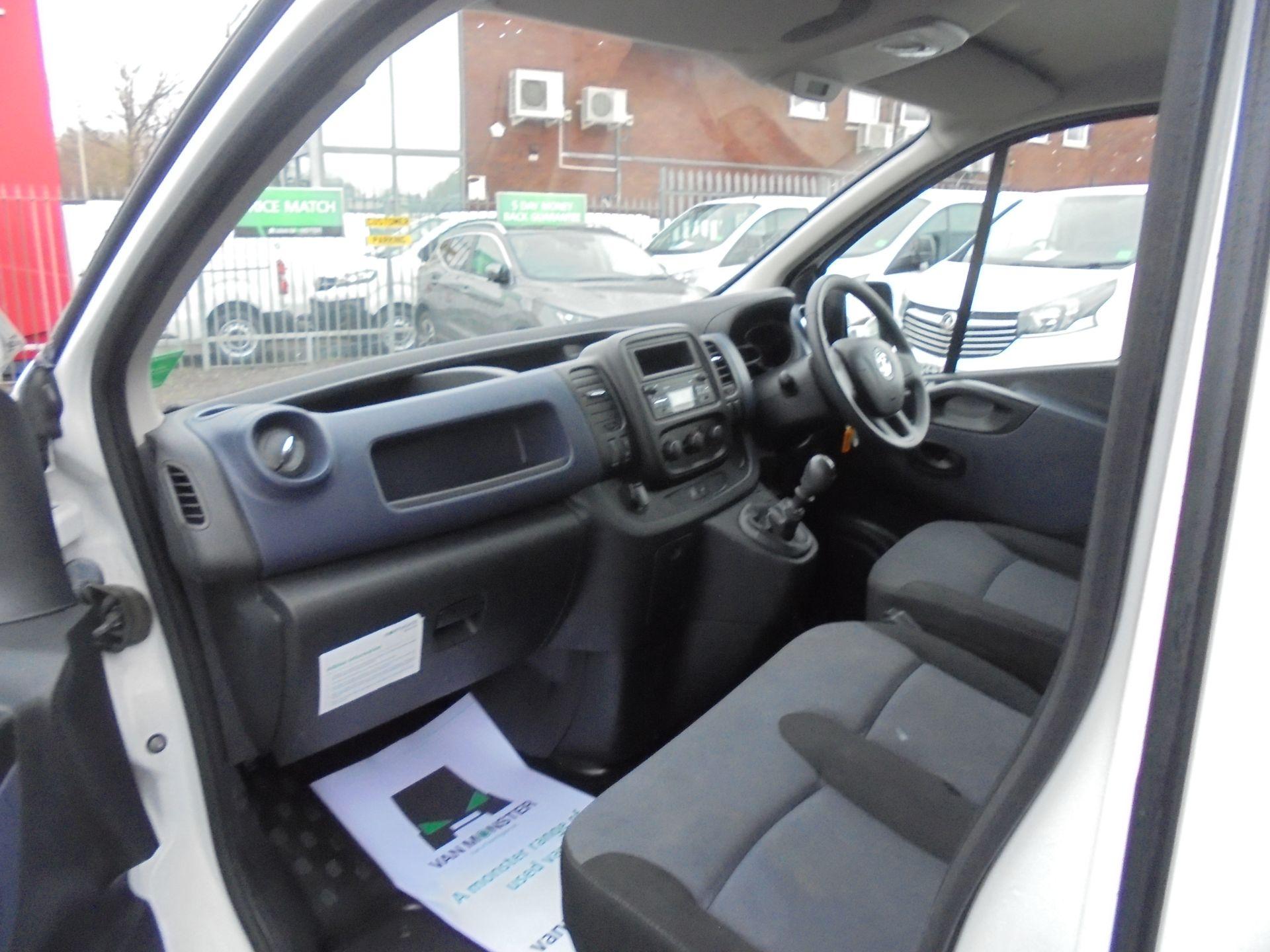 2017 Vauxhall Vivaro L2 2900 1.6CDTI 120PS  H1 EURO 6  (DV67LWY) Image 16