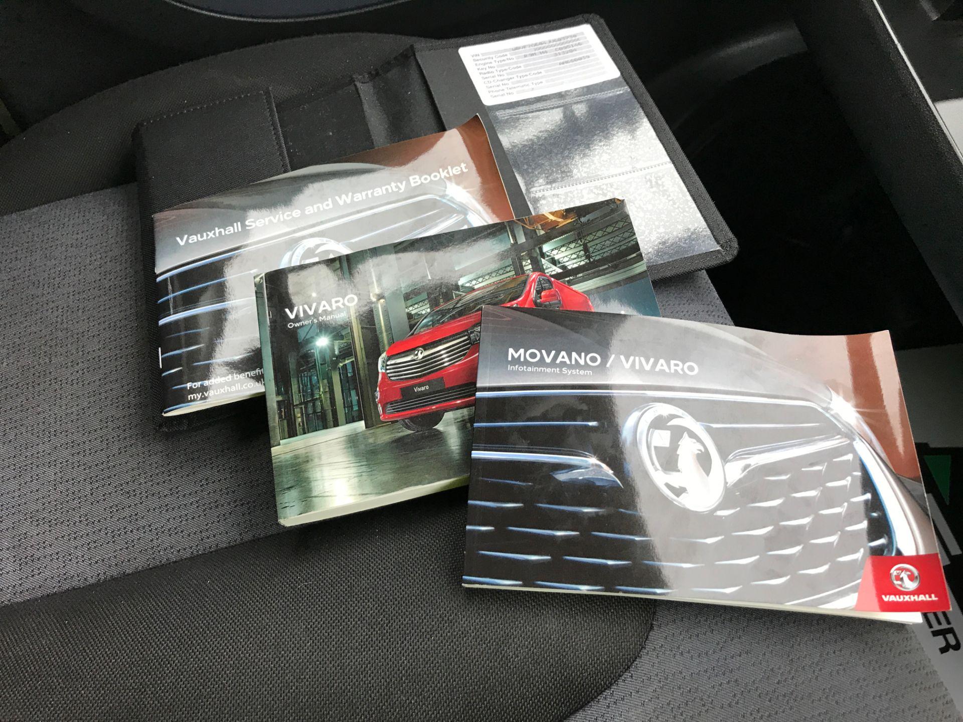 2017 Vauxhall Vivaro 2900 L2 H1 1.6CDTI 120PS EURO 6 (DV67LXB) Image 29