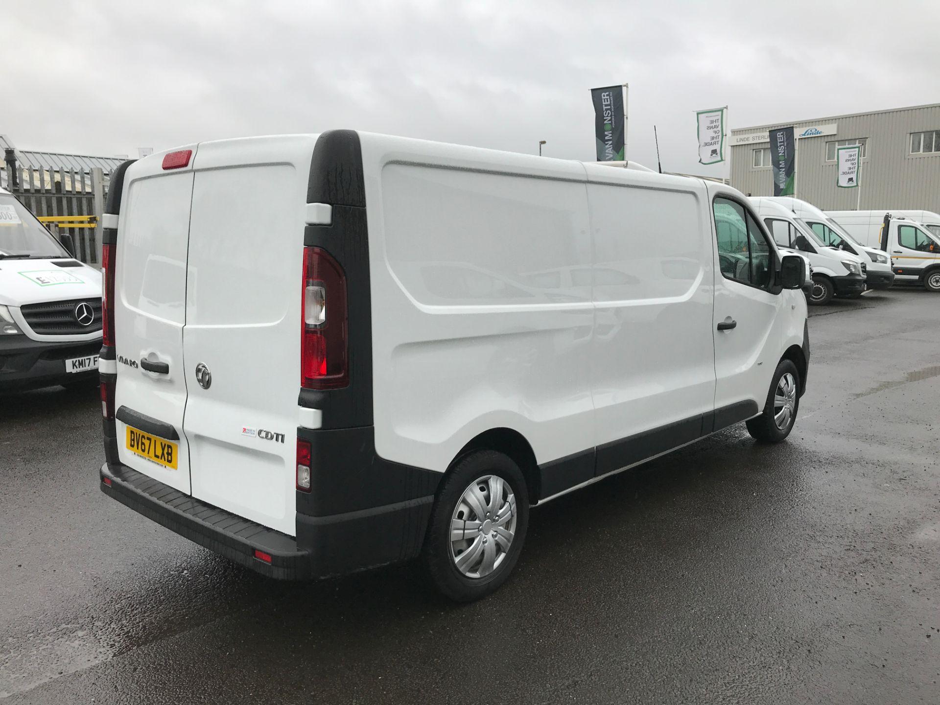 2017 Vauxhall Vivaro 2900 L2 H1 1.6CDTI 120PS EURO 6 (DV67LXB) Image 8