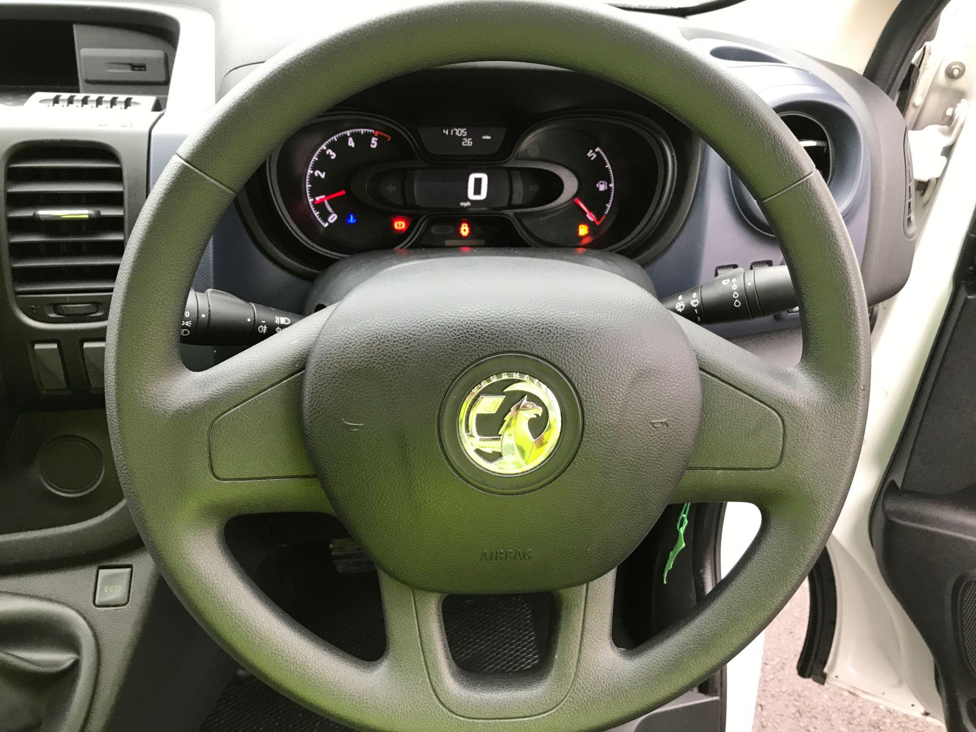 2017 Vauxhall Vivaro 2900 L2 H1 1.6CDTI 120PS EURO 6 (DV67LXB) Image 5