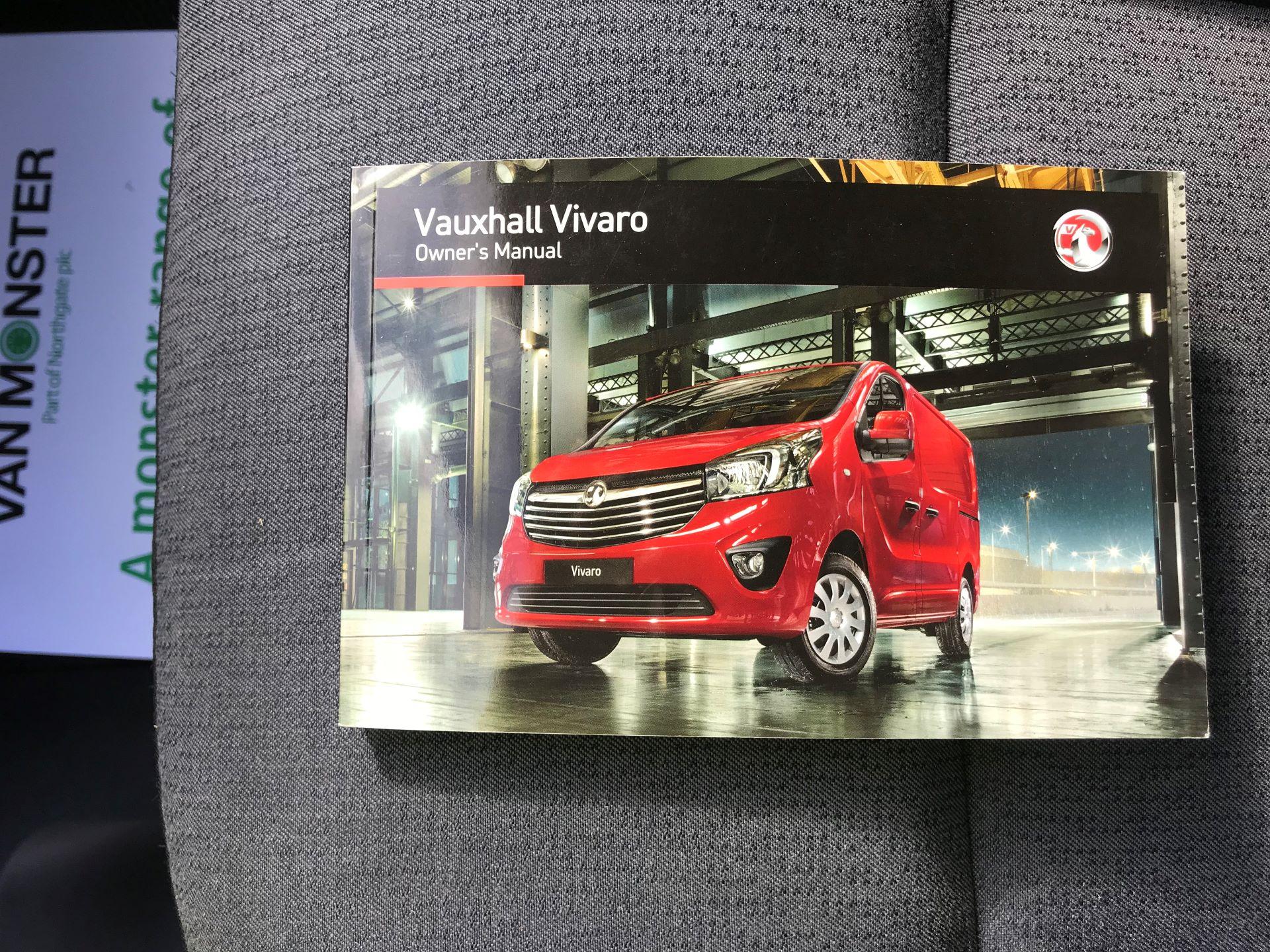 2017 Vauxhall Vivaro L2 H1 2900 1.6CDTI 120PS EURO 6 (DV67LXX) Image 35