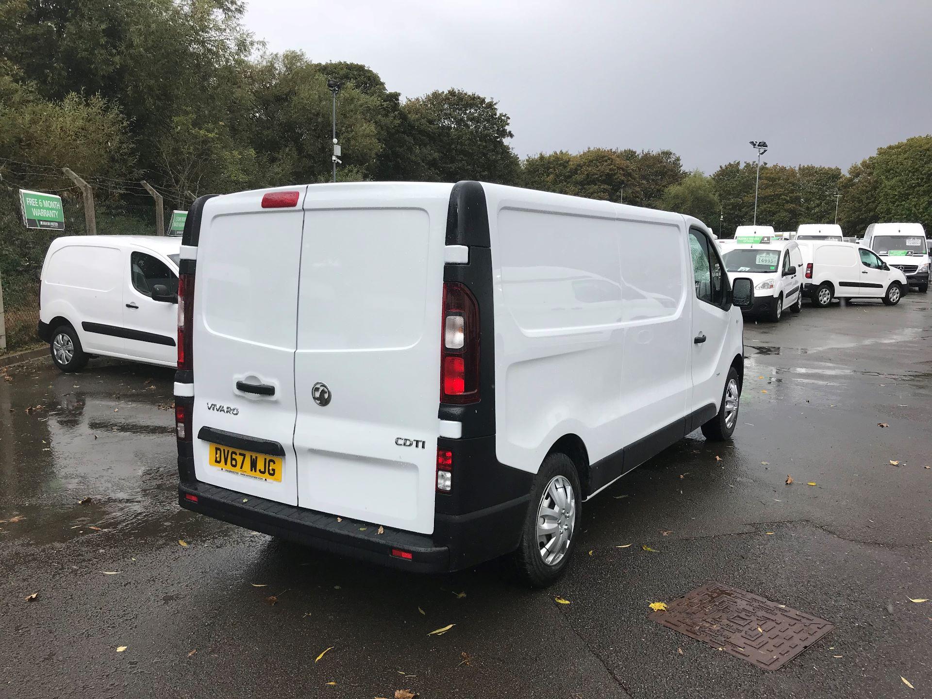 2017 Vauxhall Vivaro L2 H1 2900 1.6CDTI 120PS EURO 6 (DV67WJG) Image 4