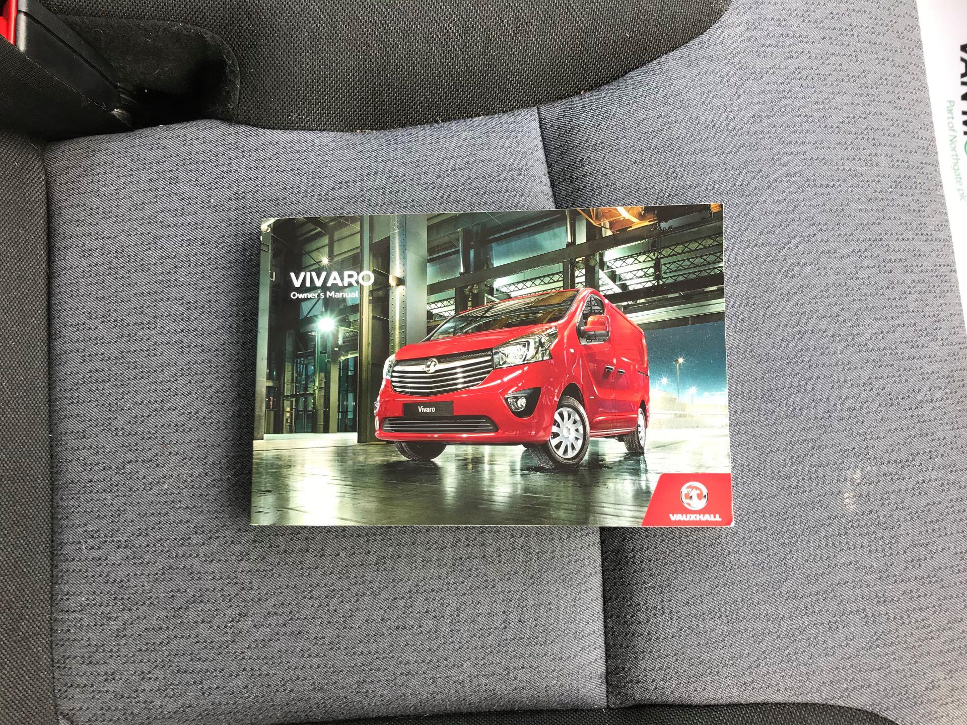 2017 Vauxhall Vivaro L2 H1 2900 1.6CDTI 120PS EURO 6 (DV67WJG) Image 27