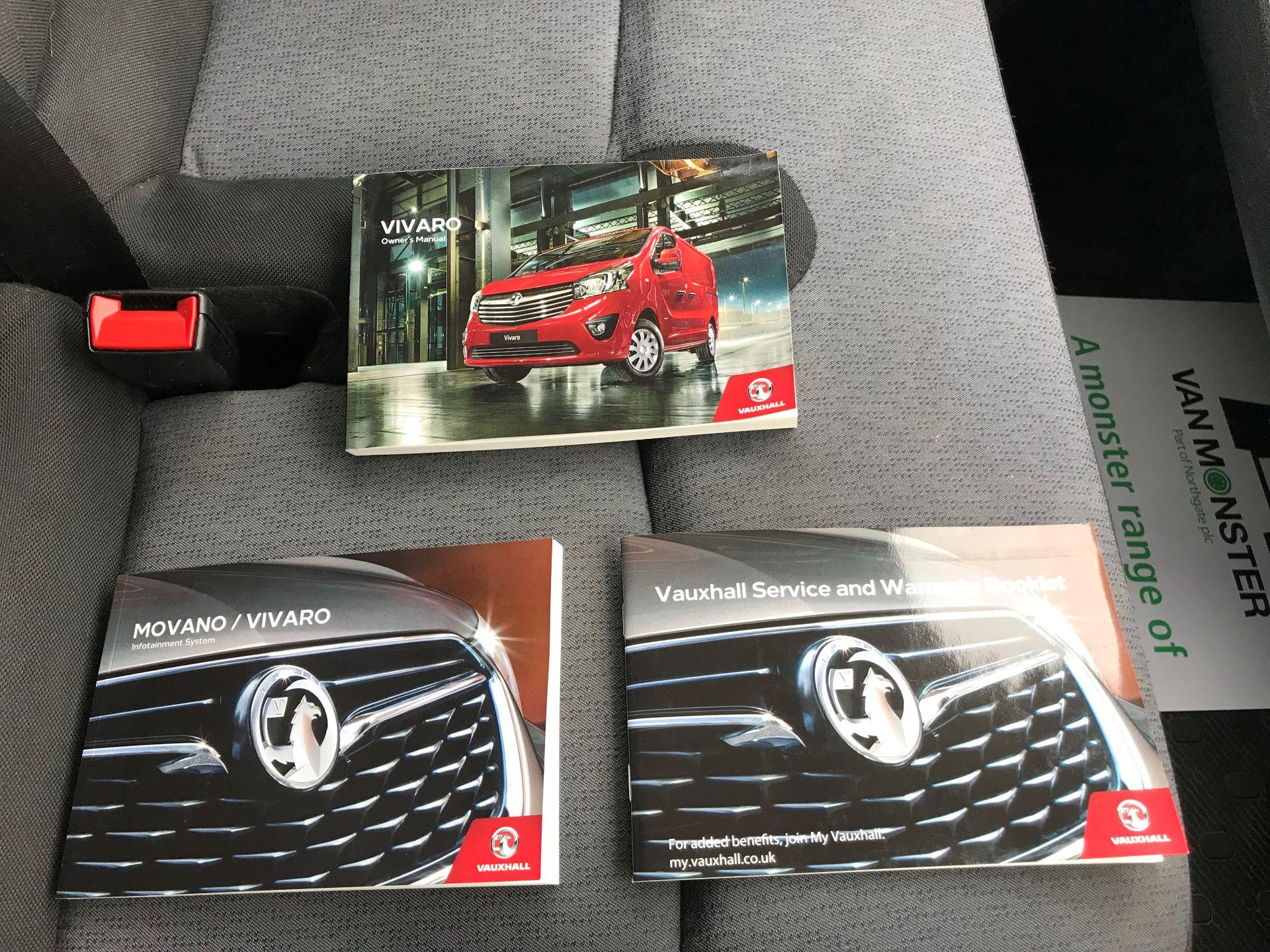 2017 Vauxhall Vivaro L2 H1 2900 1.6CDTI 120PS EURO 6 (DV67WLK) Image 31