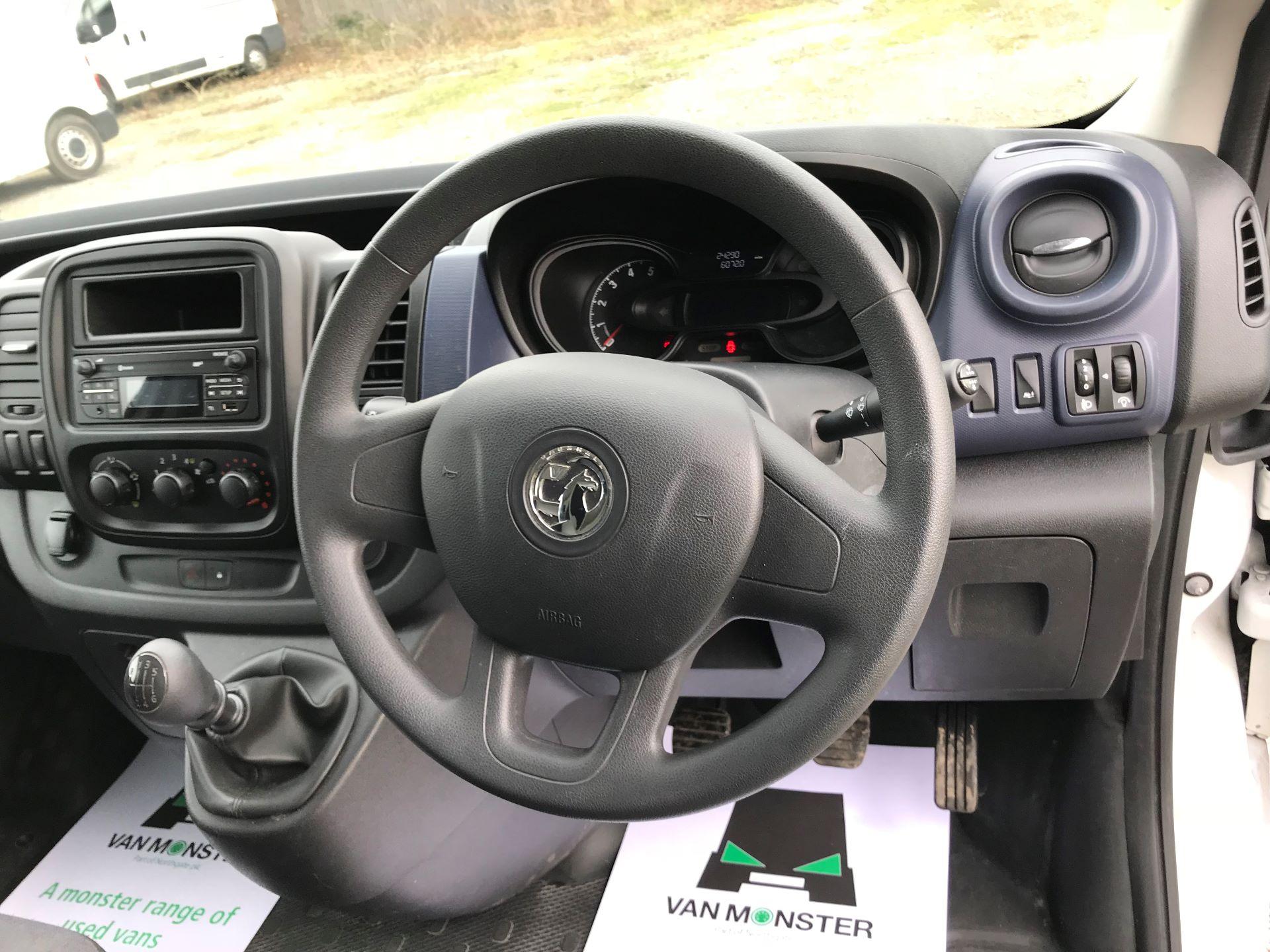 2017 Vauxhall Vivaro L2 H1 2900 1.6CDTI 120PS EURO 6 (DV67WLK) Image 25