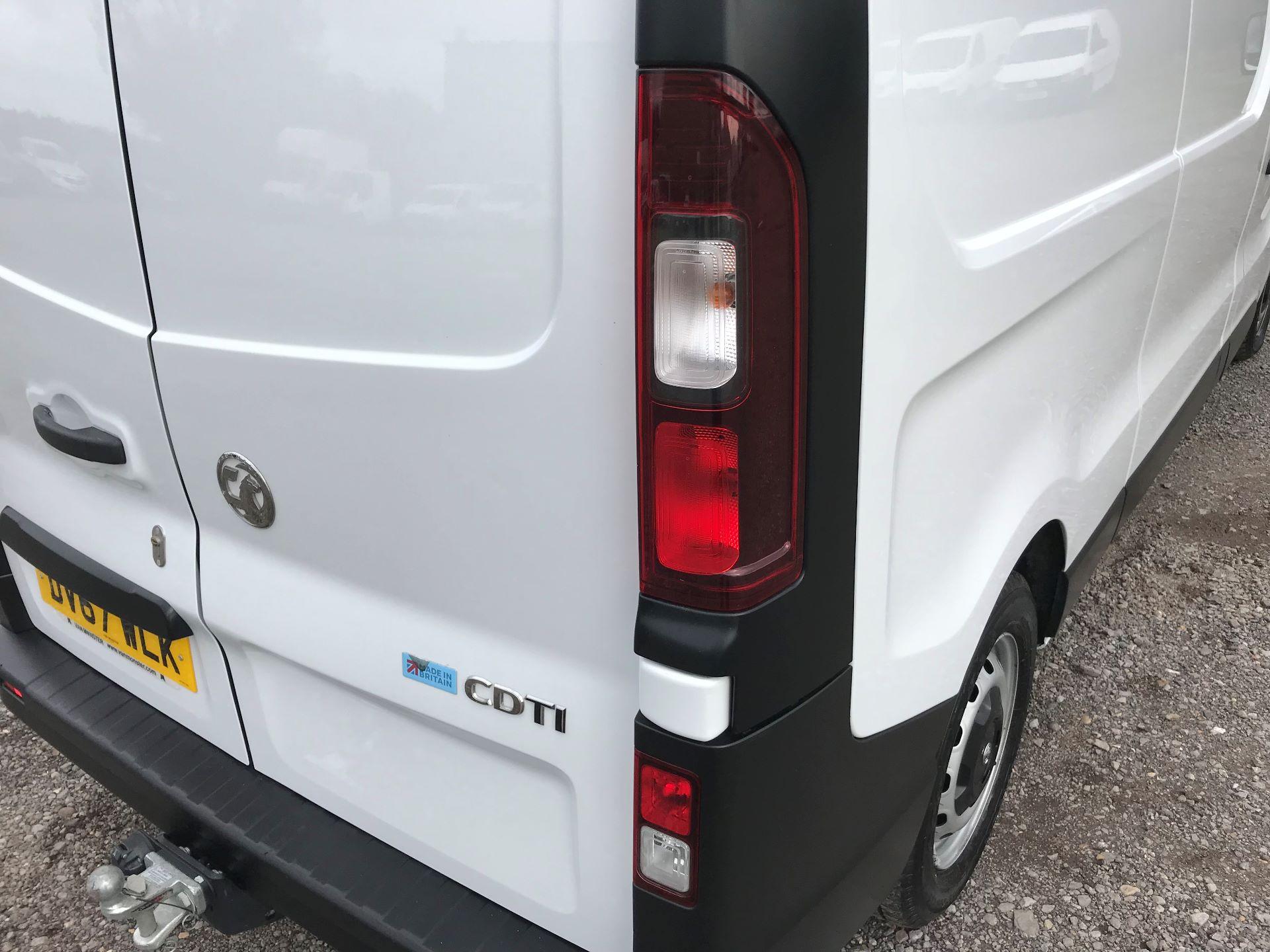 2017 Vauxhall Vivaro L2 H1 2900 1.6CDTI 120PS EURO 6 (DV67WLK) Image 16