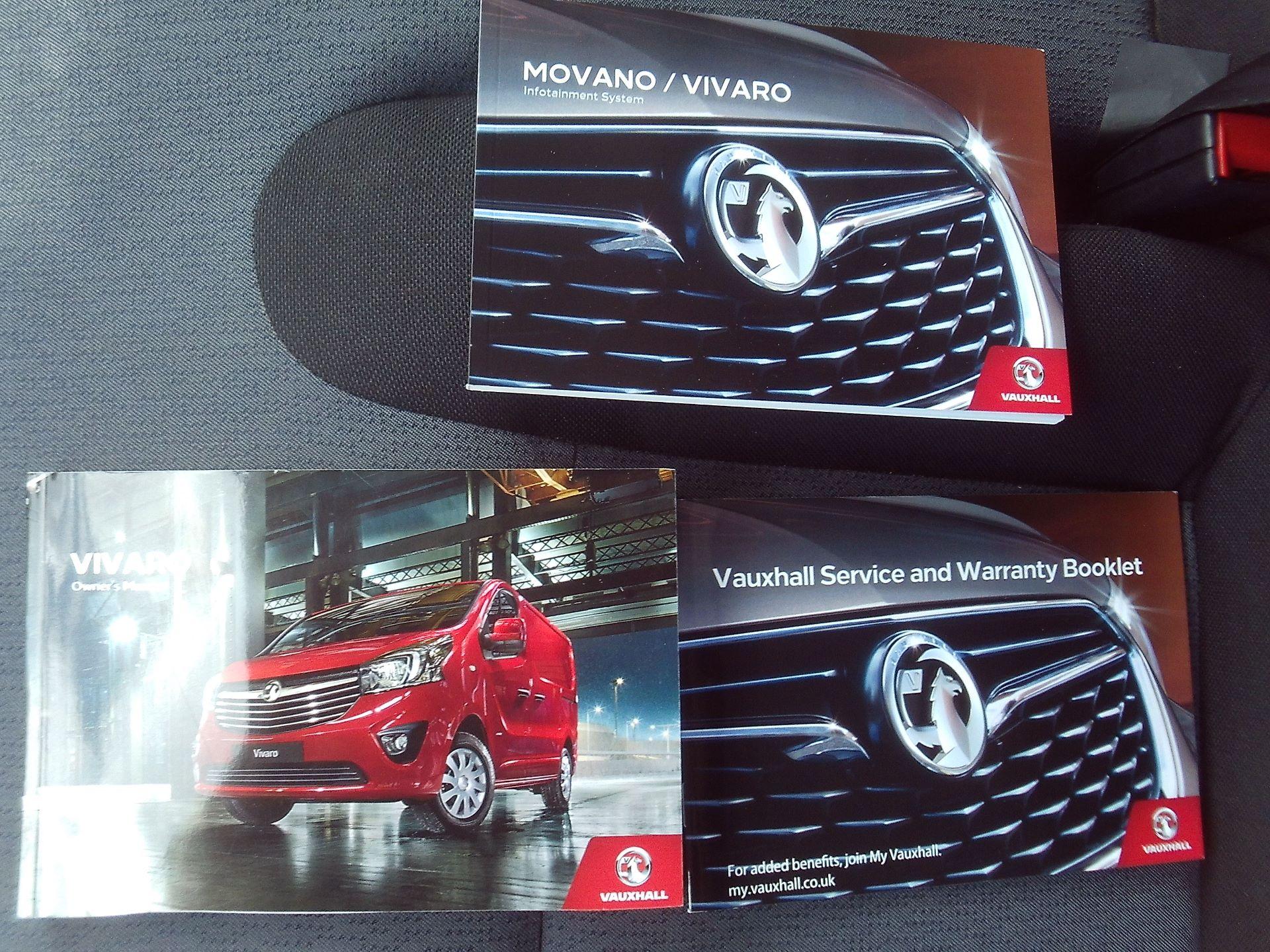 2017 Vauxhall Vivaro 2900 L2 H1 1.6CDTI 120PS EURO 6 (DV67WLU) Image 18