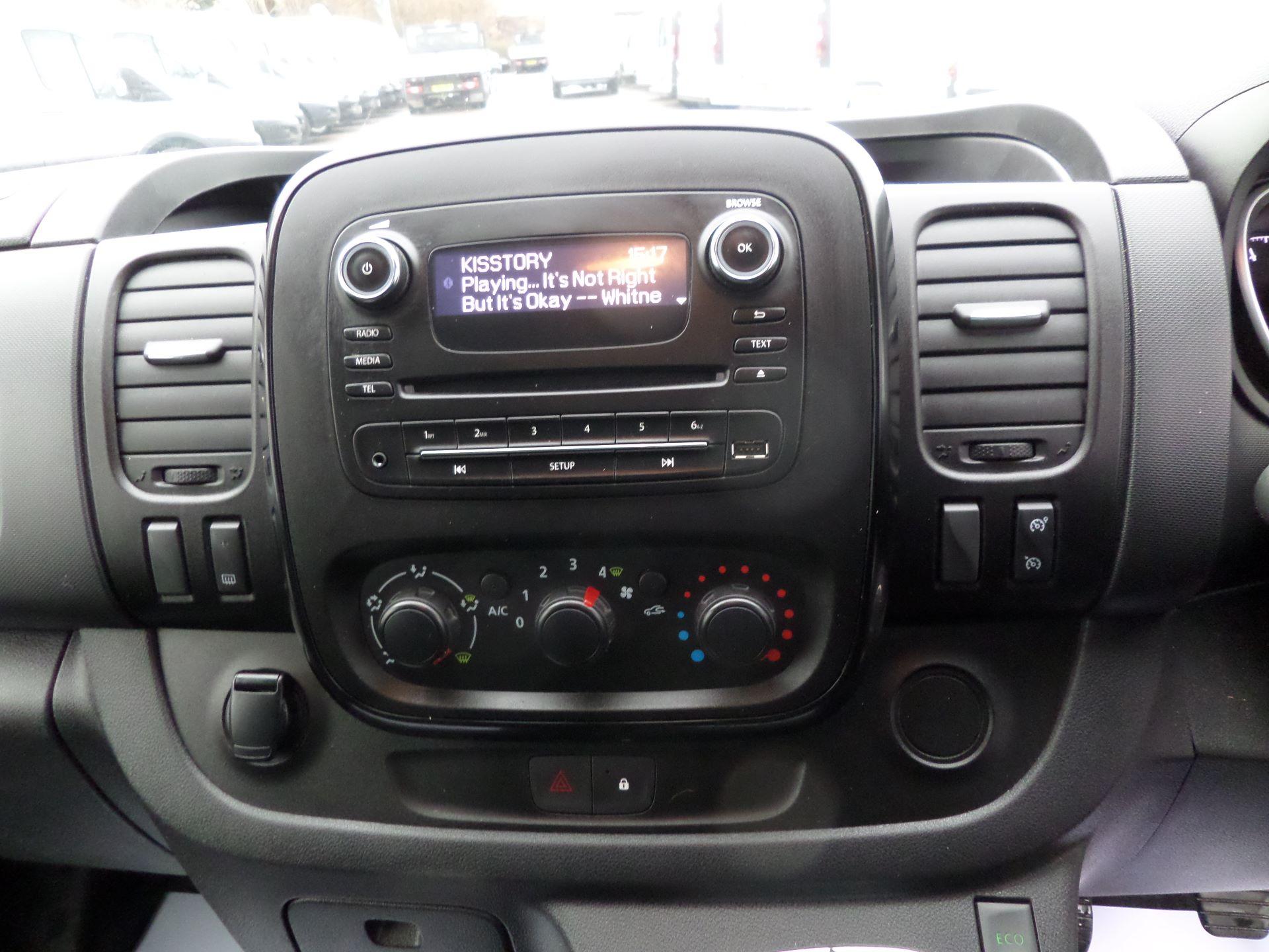 2018 Vauxhall Vivaro 2900 1.6Cdti 120Ps Sportive H1 Van Euro 6 (DV68XMY) Image 9