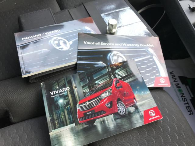 2018 Vauxhall Vivaro 2900 L2 H1 1.6CDTI 120PS SPORTIVE EURO 6 (DV68XNY) Image 30