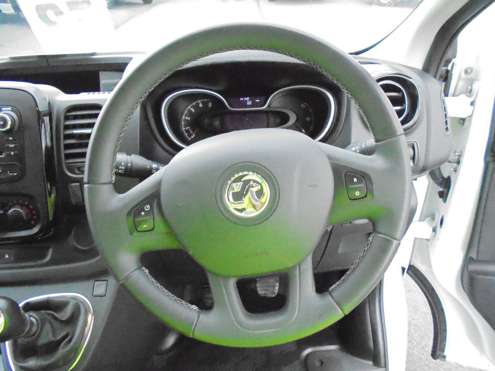 2018 Vauxhall Vivaro 2900 1.6Cdti 120Ps Sportive L2 H1 Van (DV68XPT) Image 12