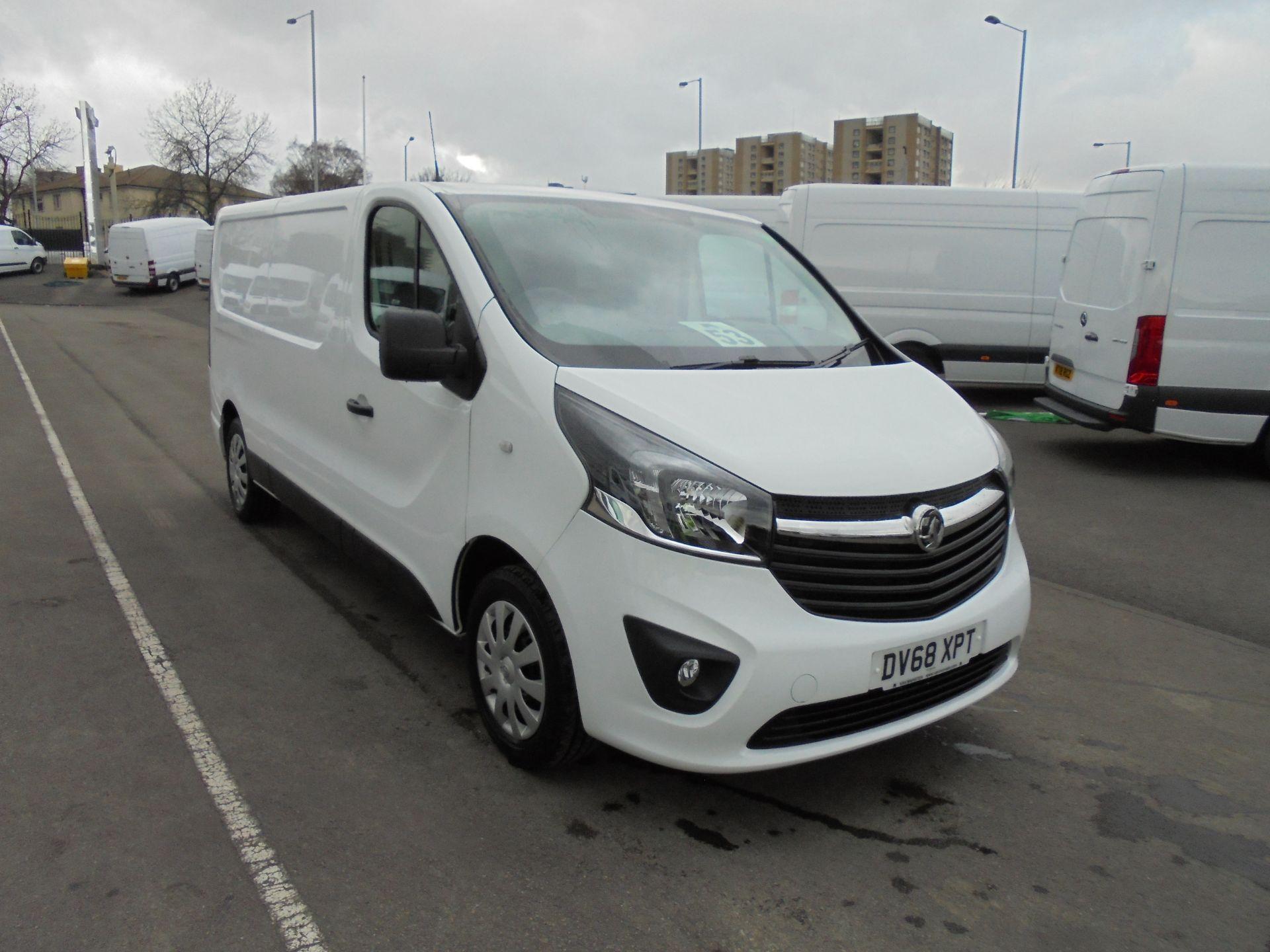 2018 Vauxhall Vivaro 2900 1.6Cdti 120Ps Sportive L2 H1 Van (DV68XPT) Image 1