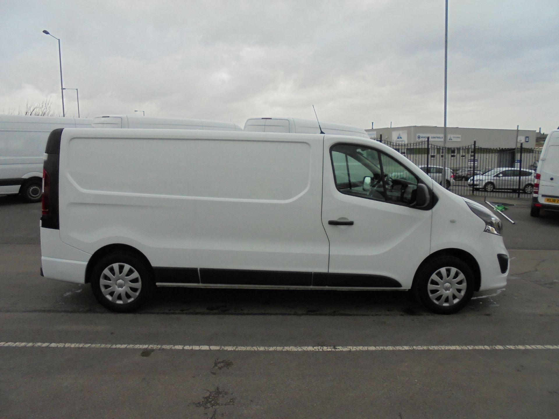 2018 Vauxhall Vivaro 2900 1.6Cdti 120Ps Sportive L2 H1 Van (DV68XPT) Image 8