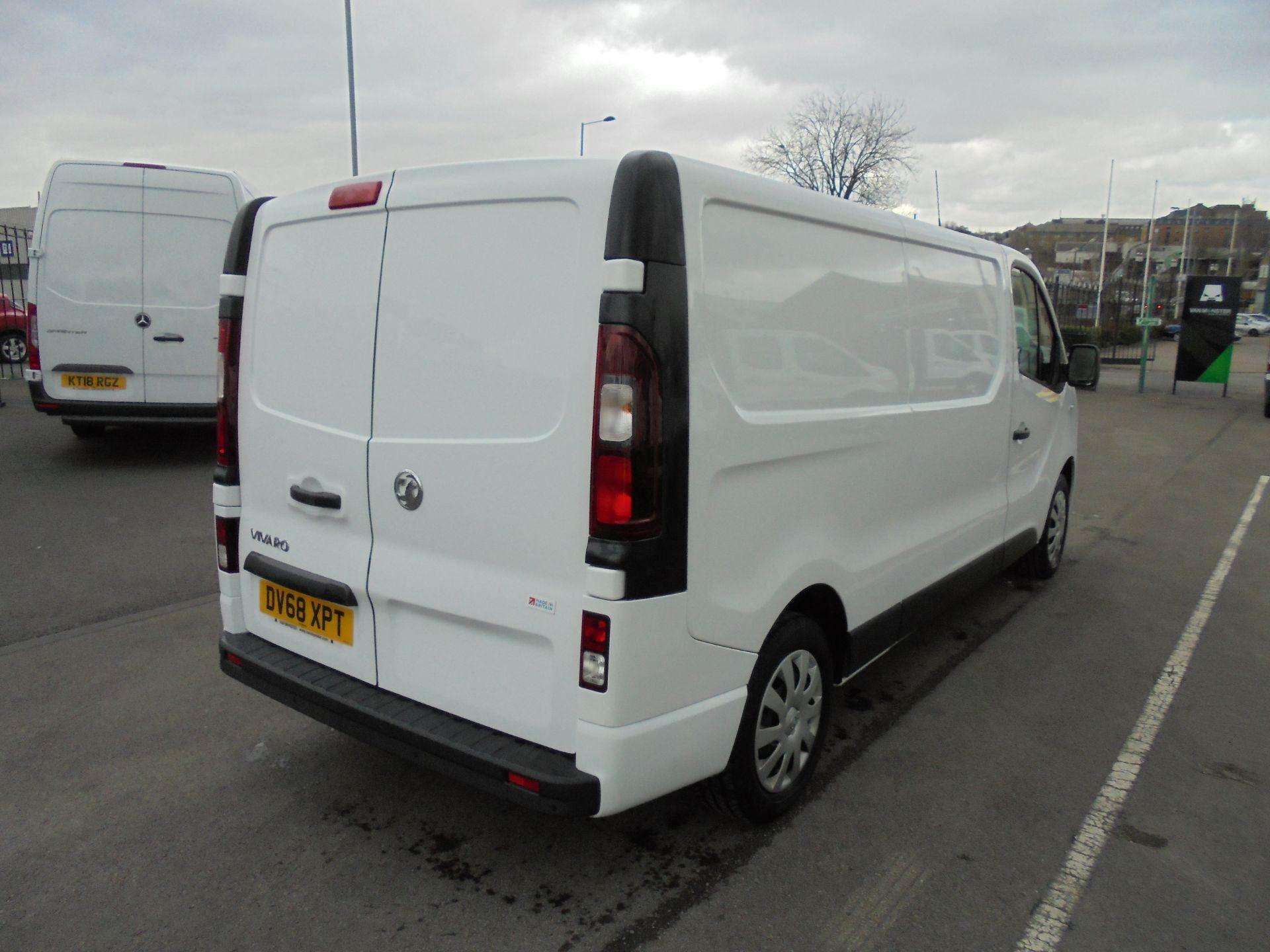 2018 Vauxhall Vivaro 2900 1.6Cdti 120Ps Sportive L2 H1 Van (DV68XPT) Image 7