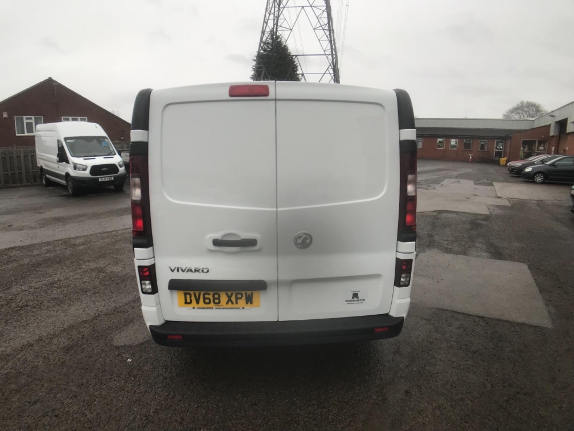 2018 Vauxhall Vivaro 2900 1.6Cdti 120Ps Sportive H1 Van (DV68XPW) Image 4