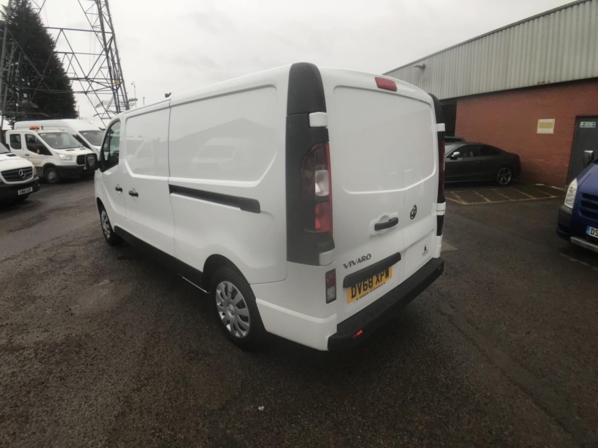 2018 Vauxhall Vivaro 2900 1.6Cdti 120Ps Sportive H1 Van (DV68XPW) Image 5