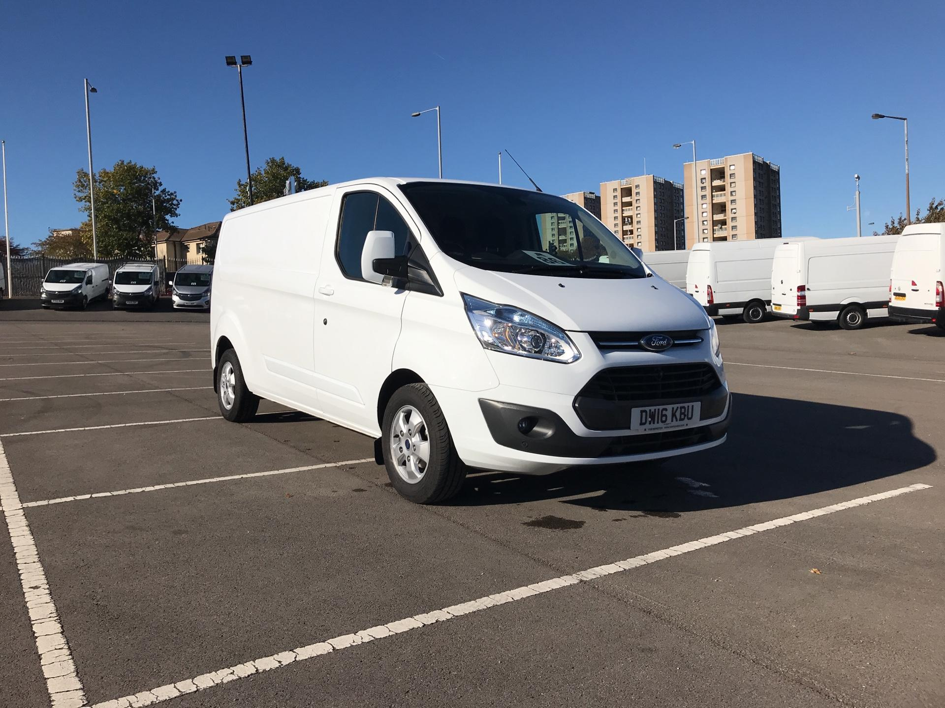 2016 Ford Transit Custom 2.2 Tdci 125Ps Low Roof LWB Limited Van EURO 6 (DW16KBU)