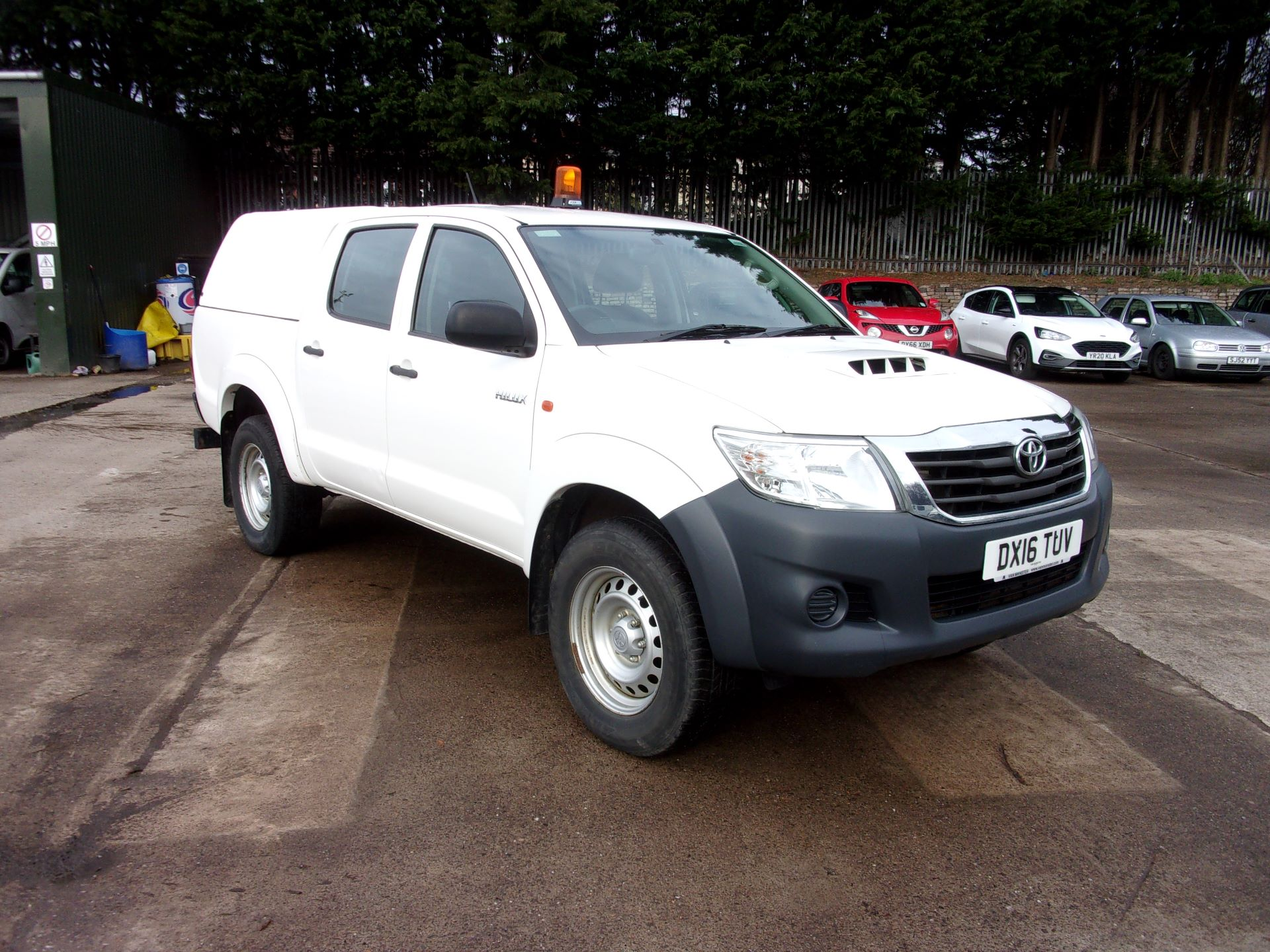 2016 Toyota Hilux ACTIVE DOUBLE CAB PICK UP 2.5 D-4D 4WD 144PS (DX16TUV)