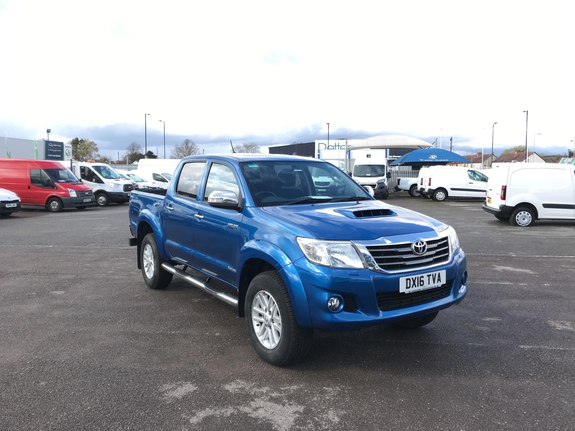 2016 Toyota Hilux  D/CAB PICK-UP 3.0 4WD 171 INVINCIBLE EURO 5 (DX16TVA)